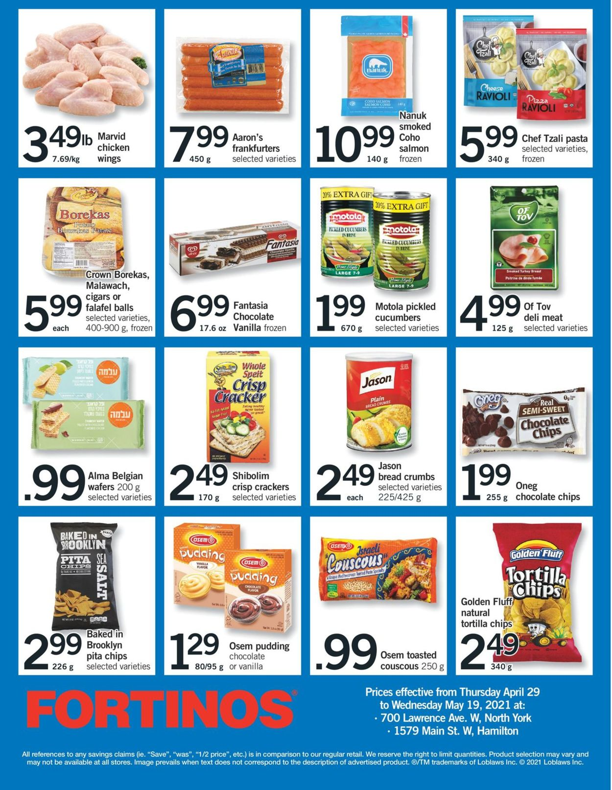 Fortinos Flyer - 04/29-05/05/2021 (Page 30)