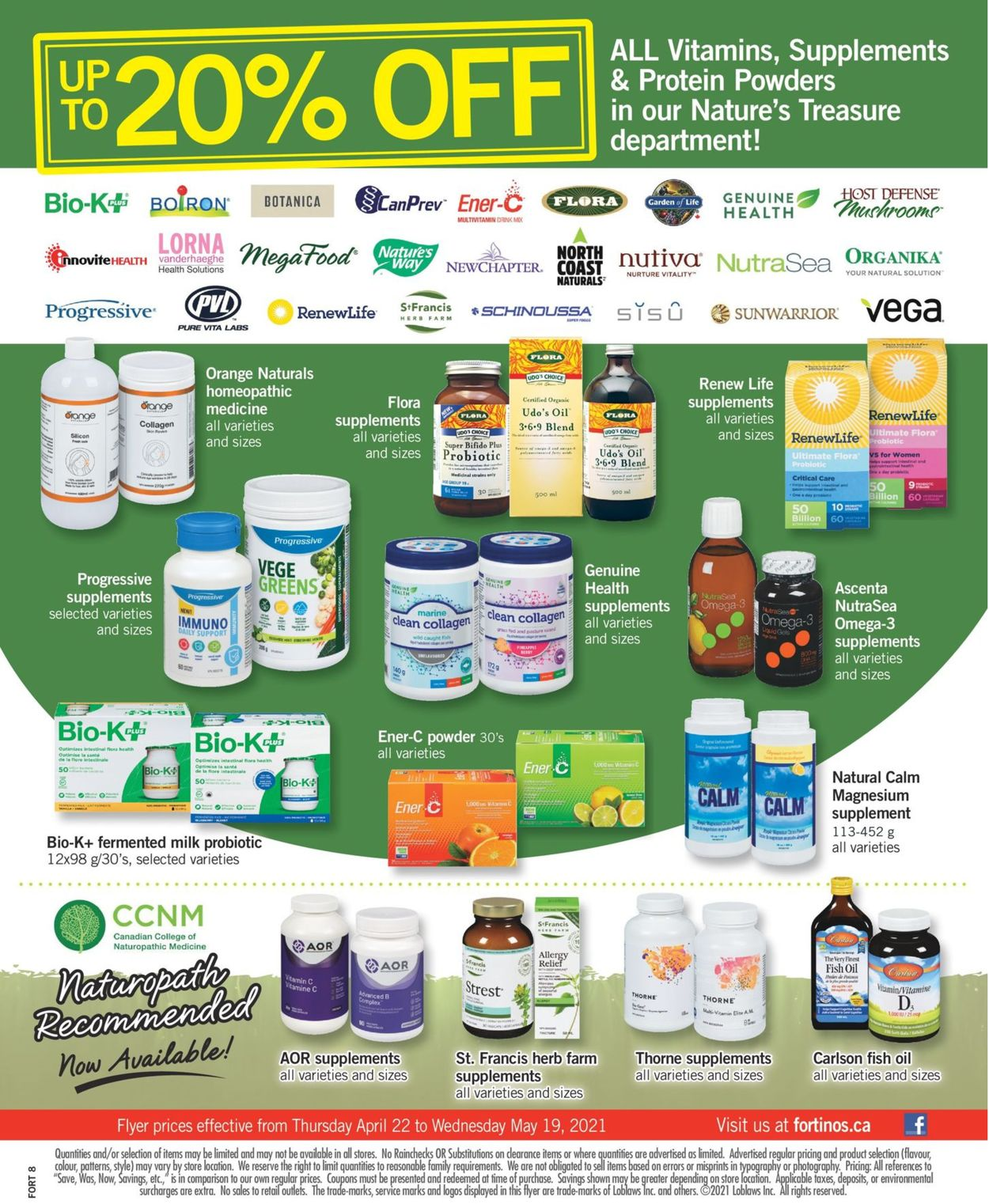 Fortinos Flyer - 05/13-05/19/2021 (Page 17)