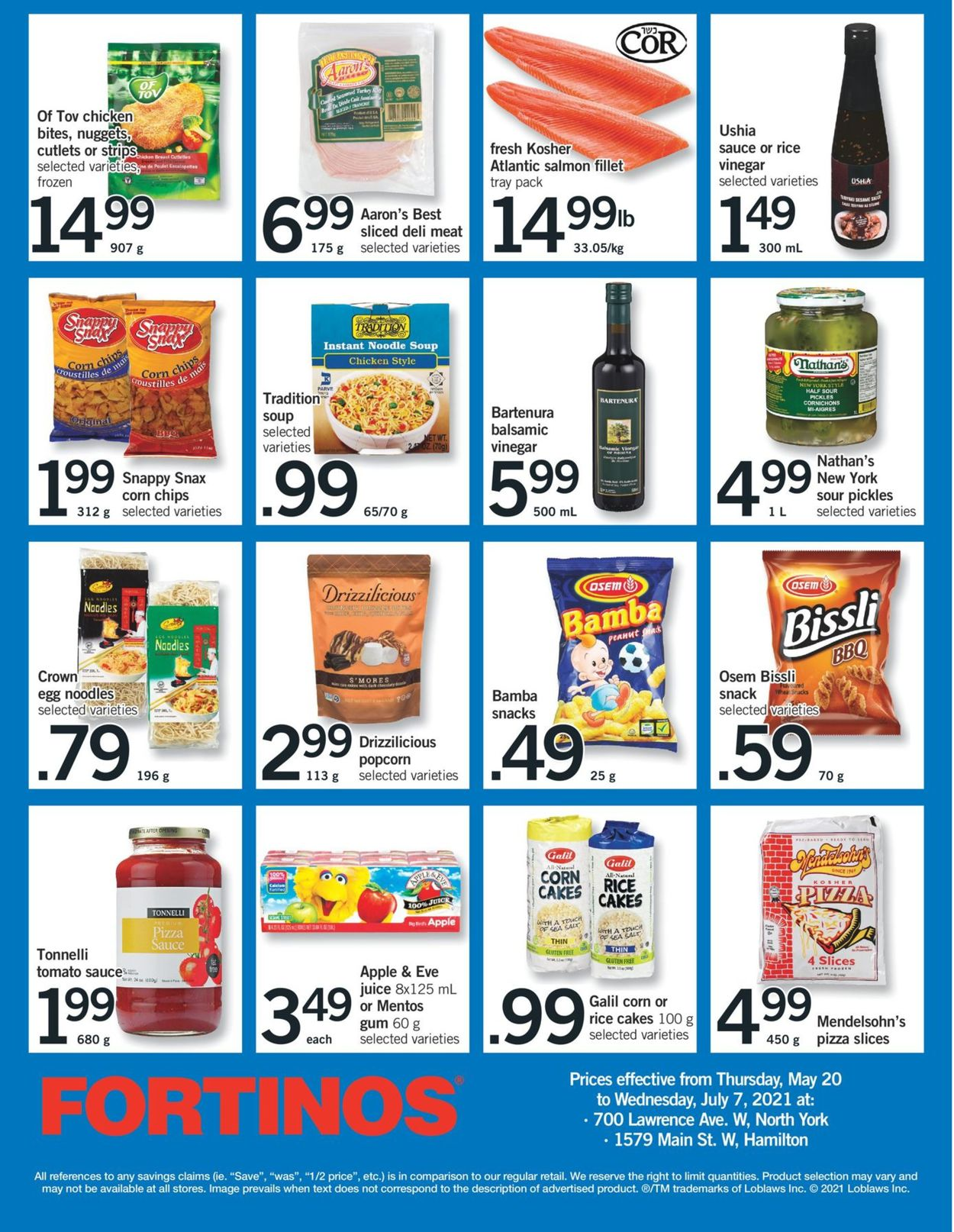 Fortinos Flyer - 06/03-06/09/2021 (Page 25)