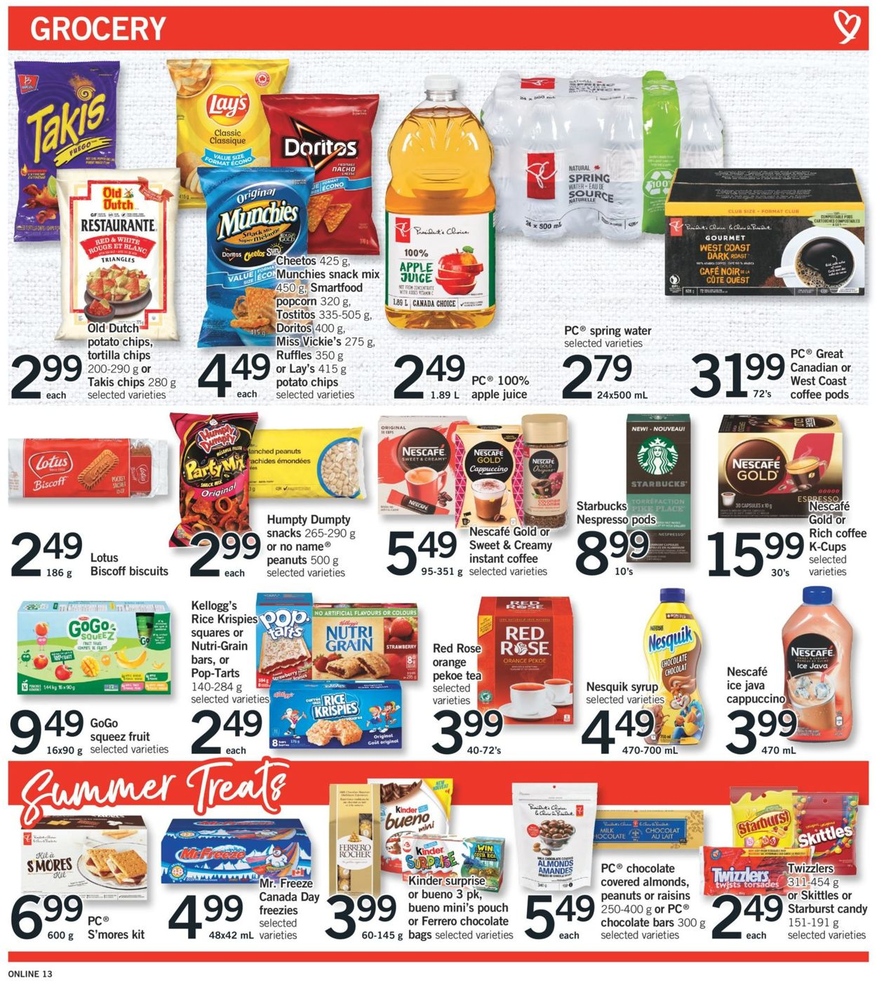 Fortinos Flyer - 06/03-06/09/2021 (Page 14)