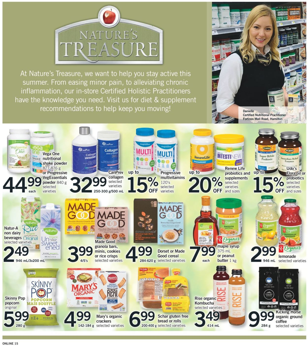 Fortinos Flyer - 06/03-06/09/2021 (Page 15)