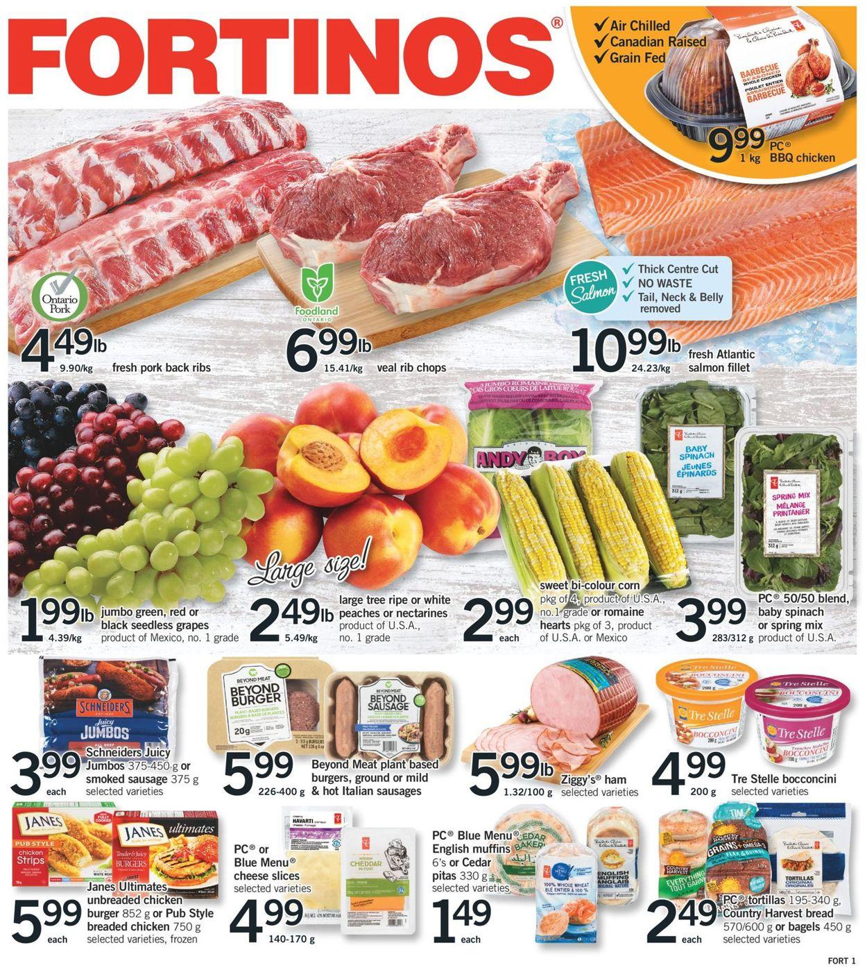 Fortinos Flyer - 06/10-06/16/2021