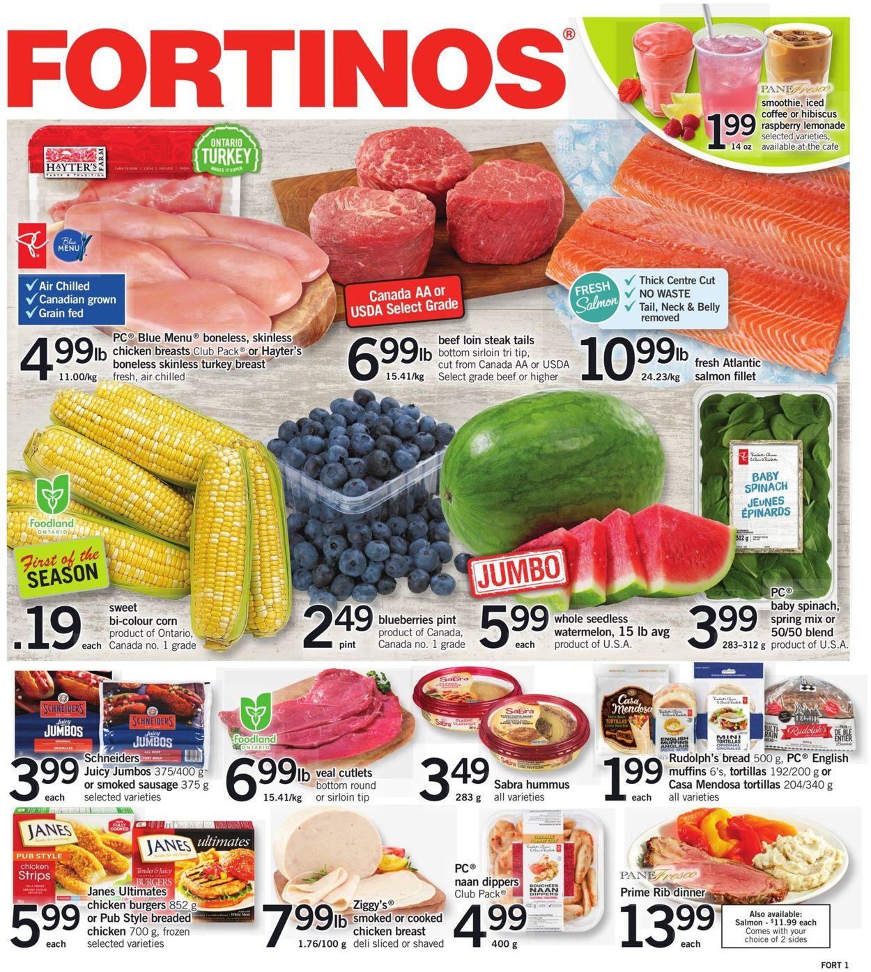 Fortinos Flyer - 07/22-07/28/2021