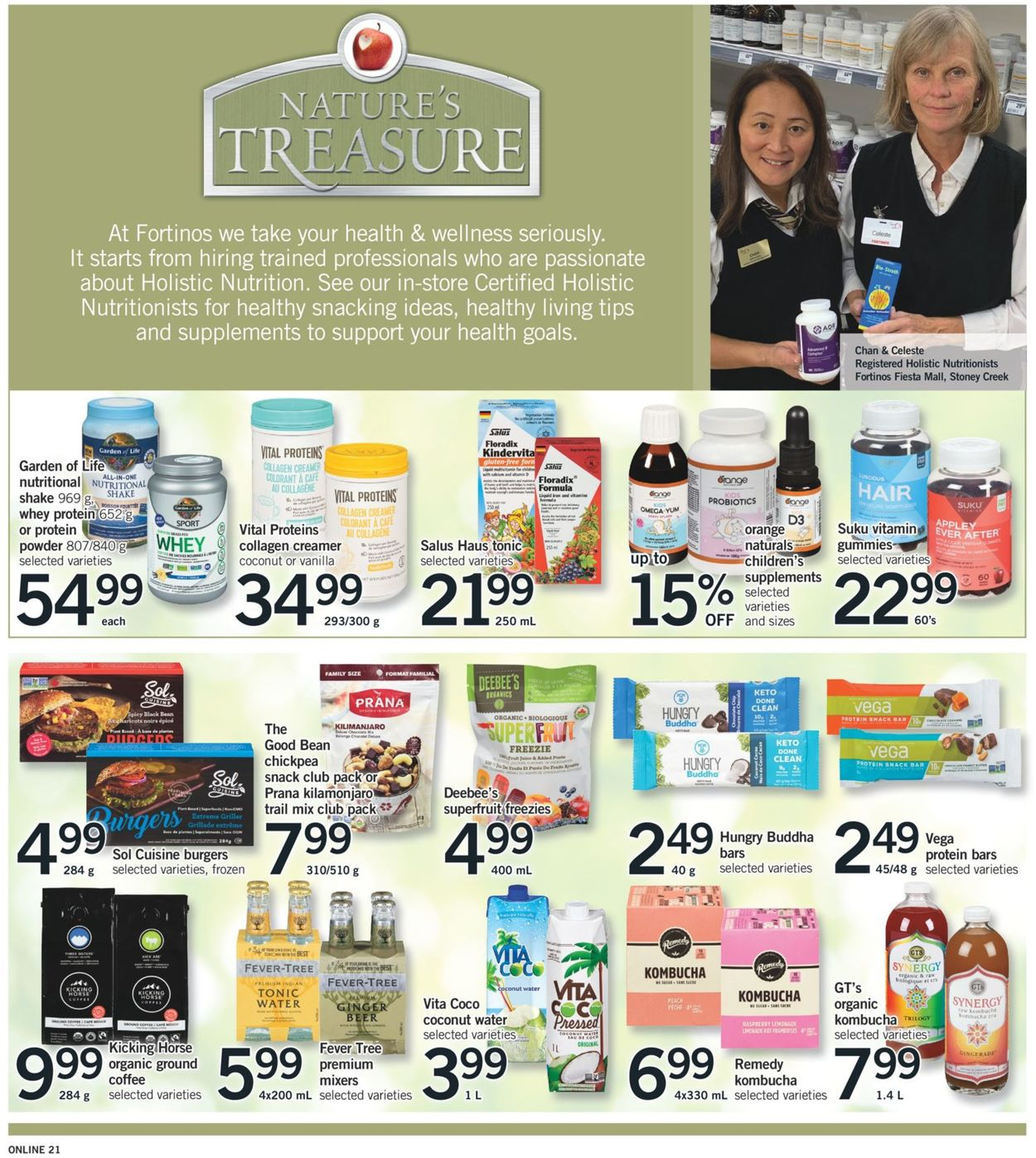 Fortinos Flyer - 07/29-08/04/2021 (Page 21)