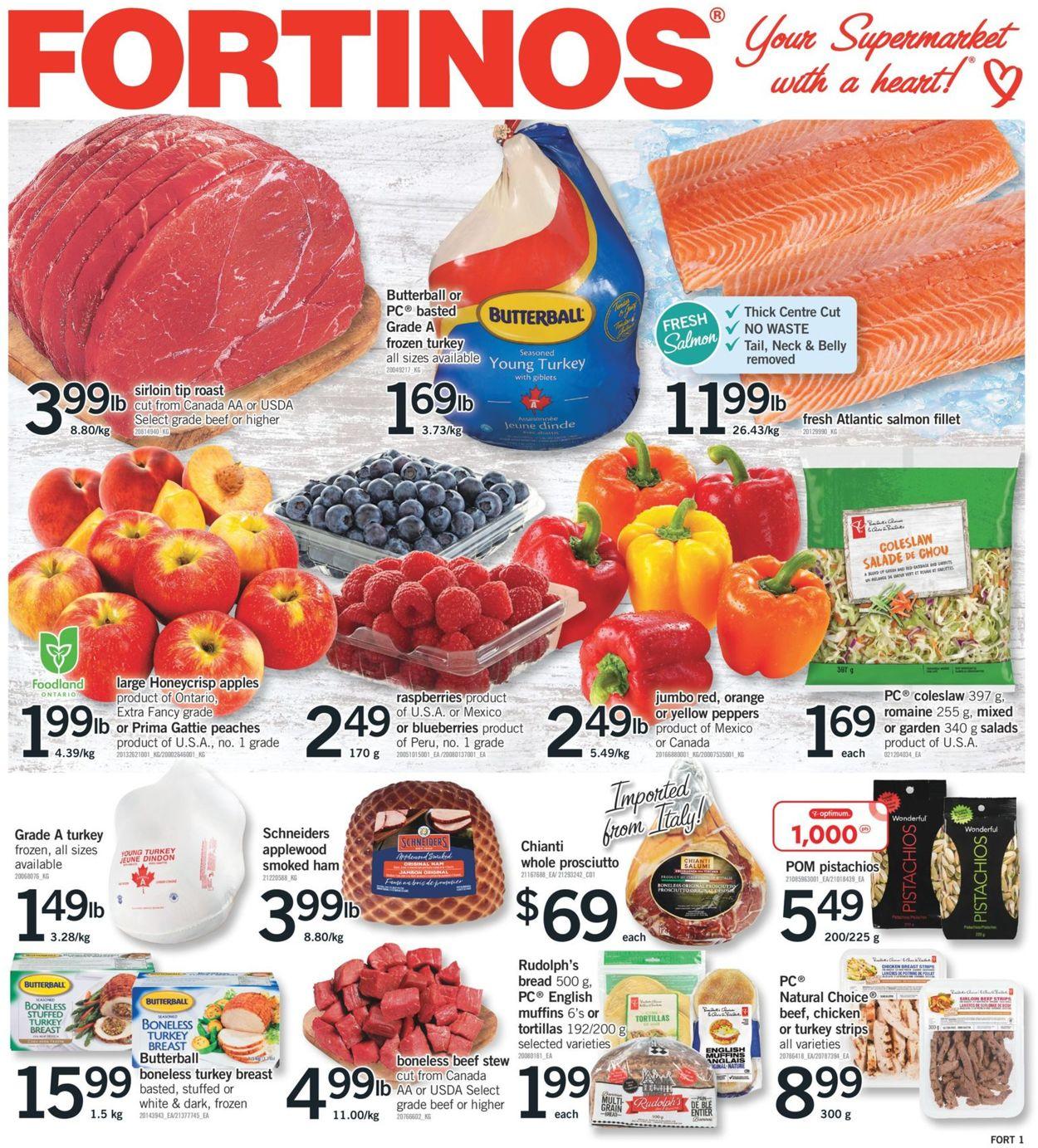 Fortinos Flyer - 09/23-09/29/2021
