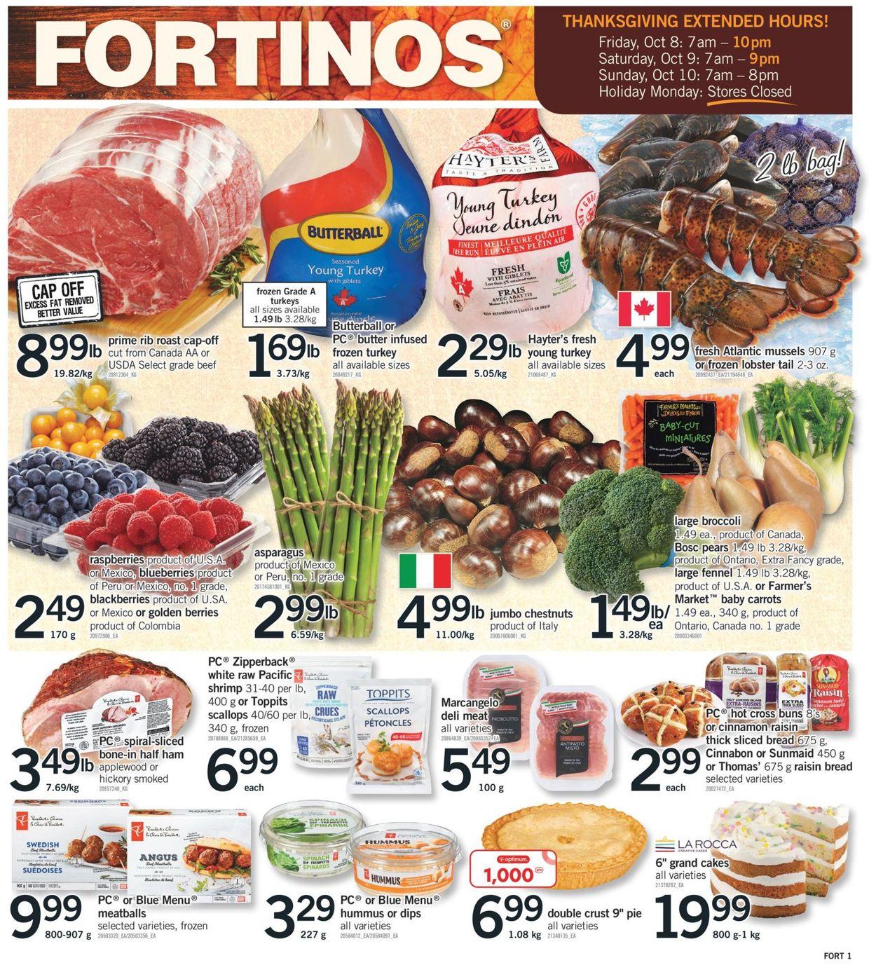 Fortinos Flyer - 10/07-11/03/2021