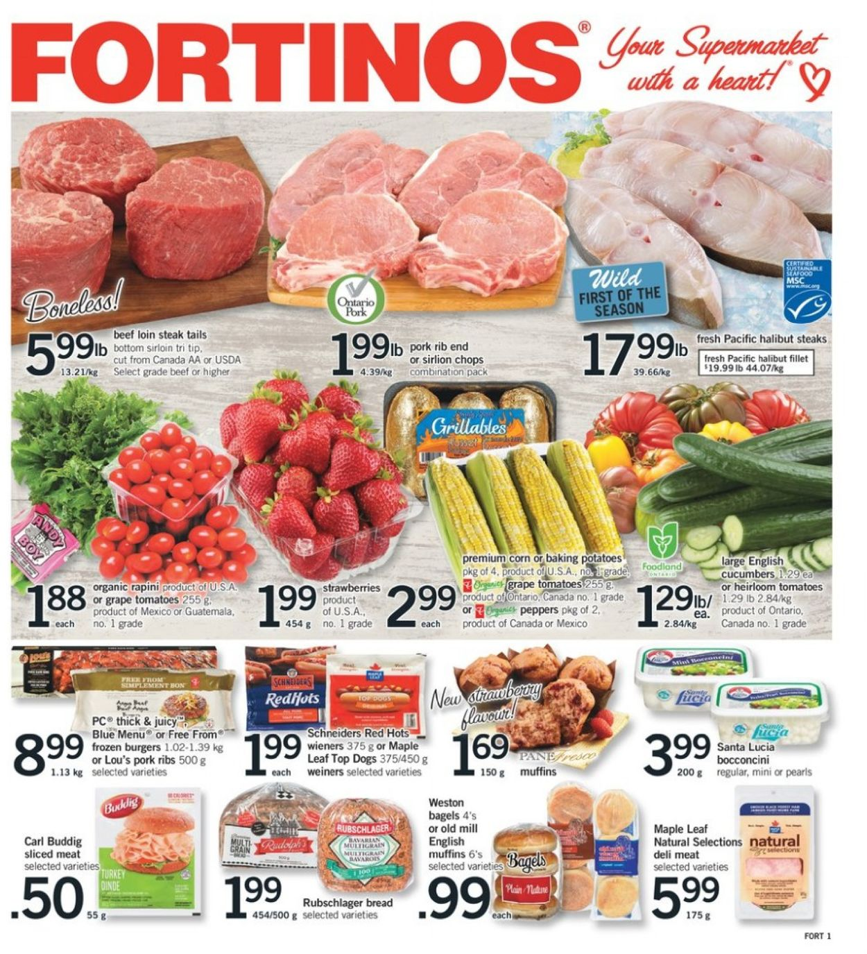 Fortinos Flyer - 04/25-05/01/2019