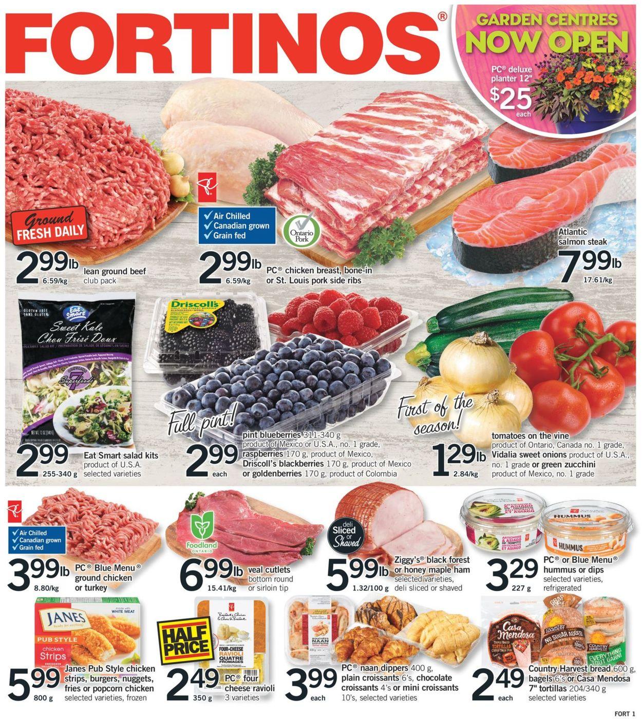 Fortinos Flyer - 05/02-05/08/2019