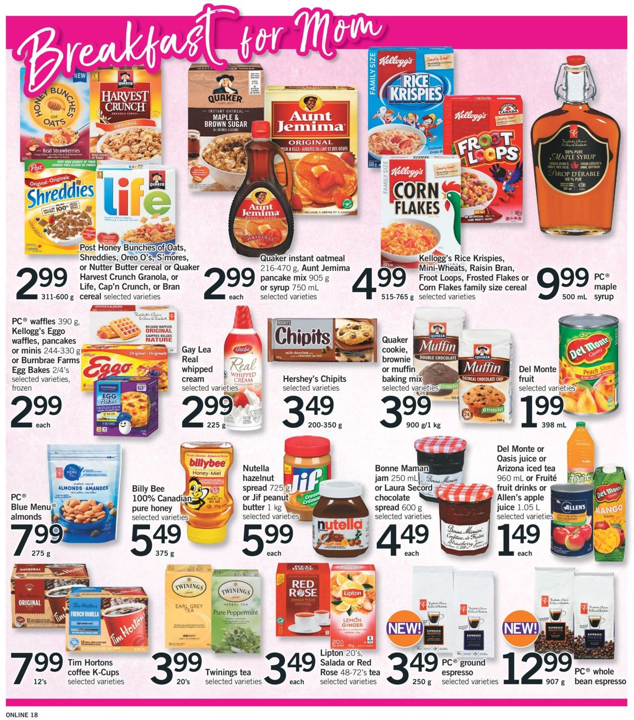 Fortinos Flyer - 05/09-05/15/2019 (Page 18)