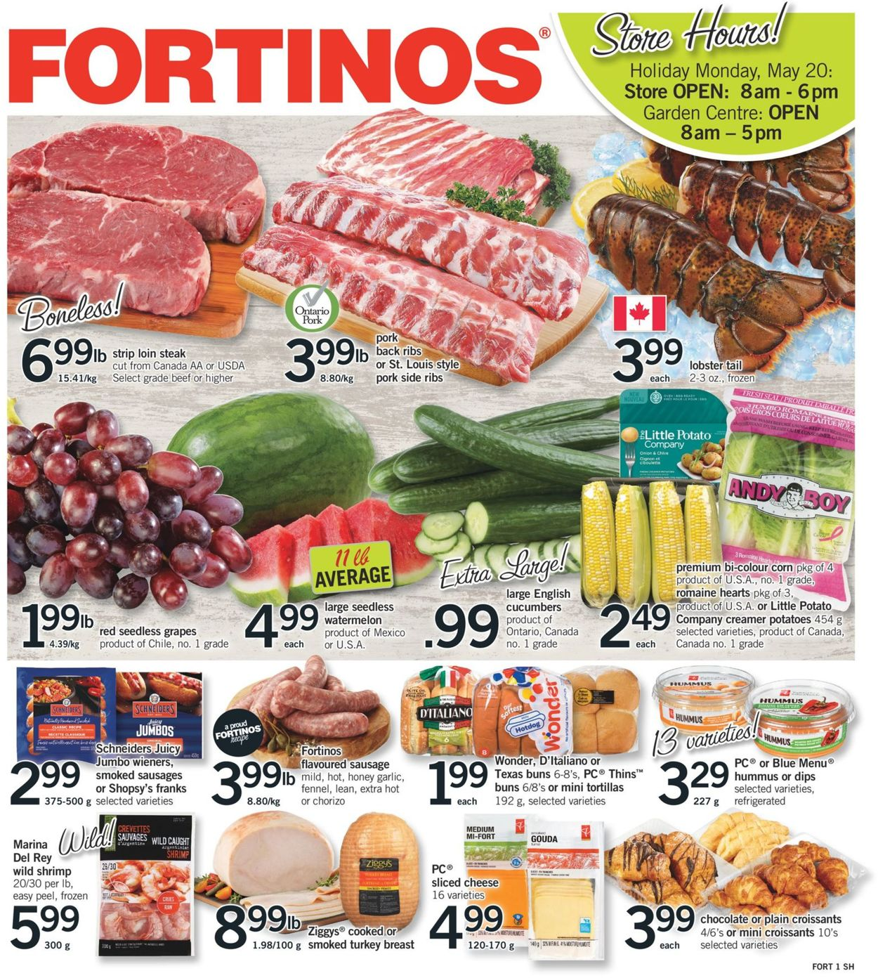 Fortinos Flyer - 05/16-05/22/2019