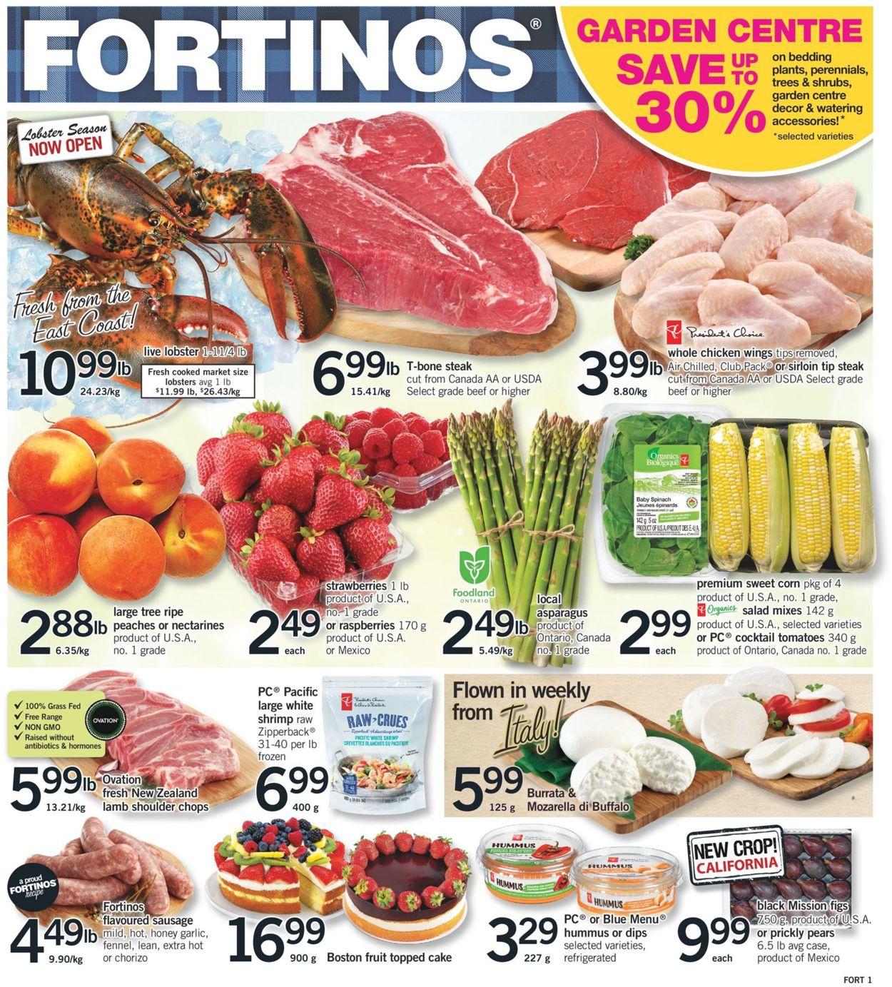 Fortinos Flyer - 06/13-06/19/2019