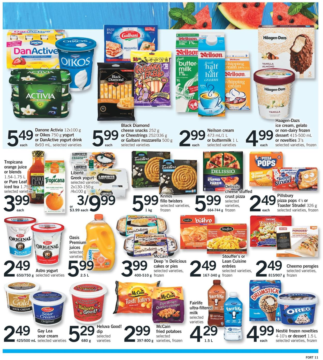 Fortinos Flyer - 06/27-07/01/2019 (Page 12)