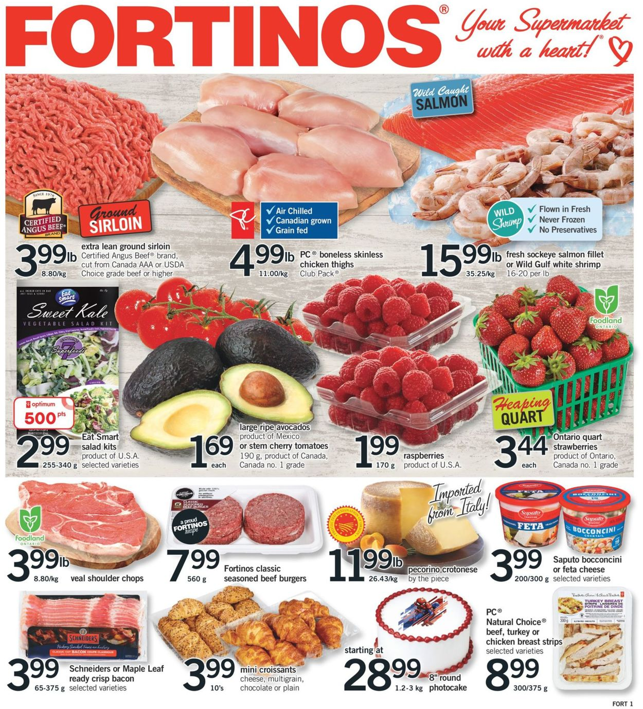 Fortinos Flyer - 07/04-07/10/2019