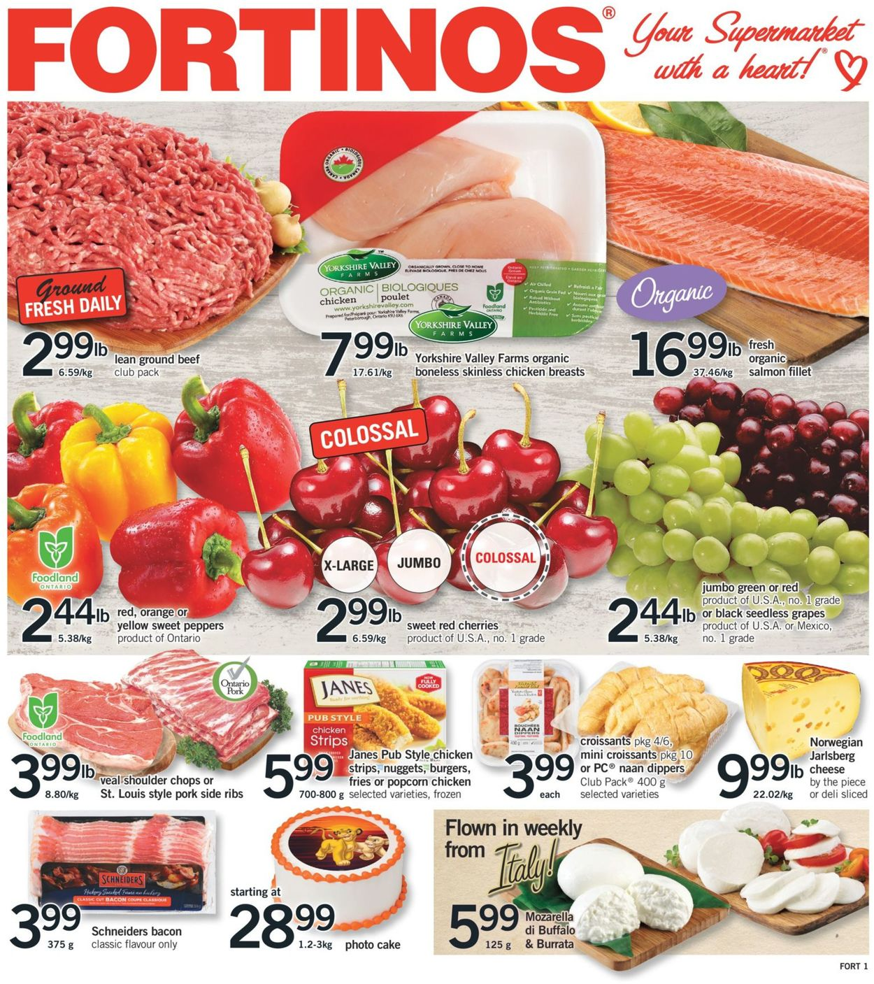 Fortinos Flyer - 07/18-07/24/2019