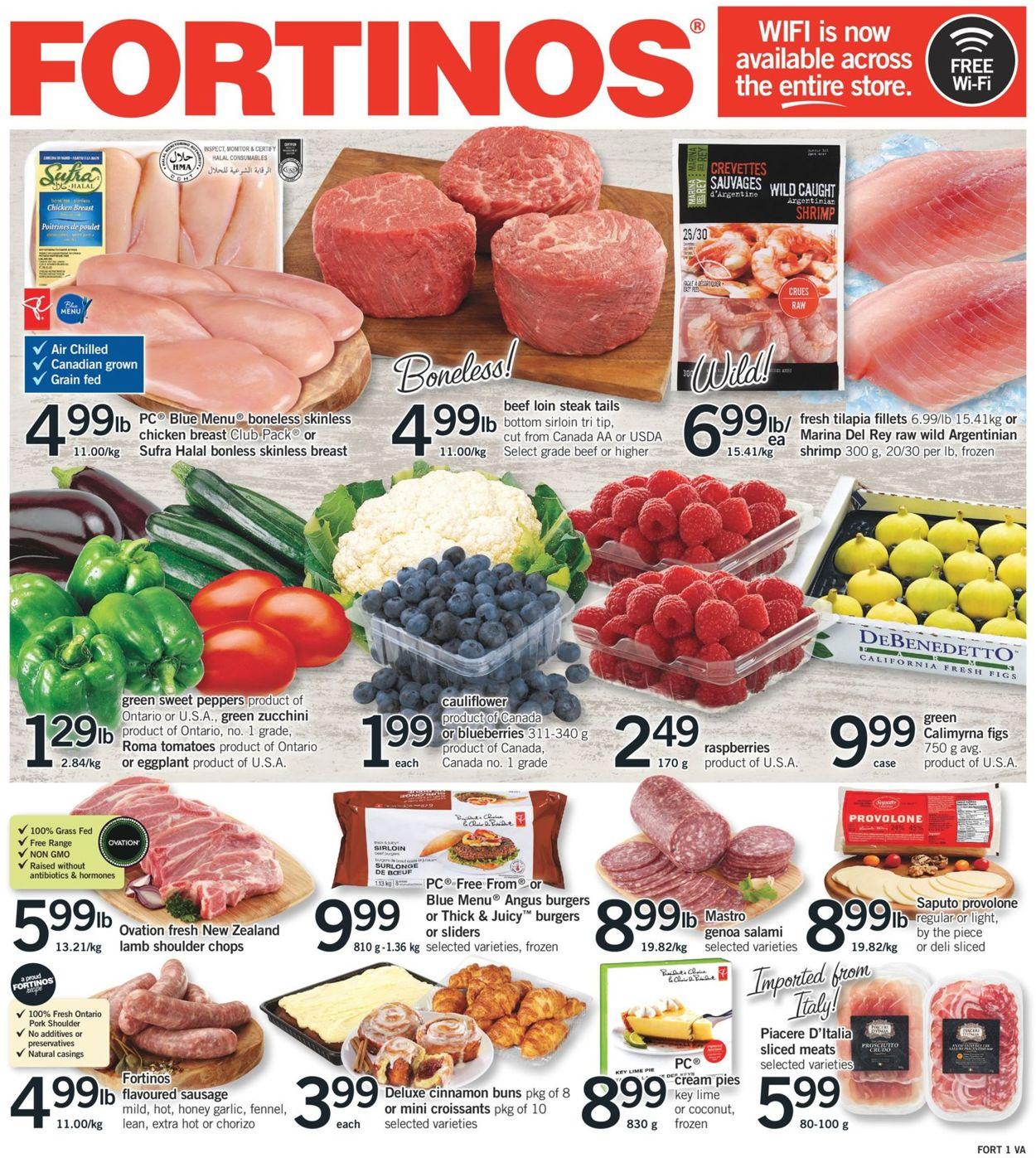 Fortinos Flyer - 07/25-07/31/2019