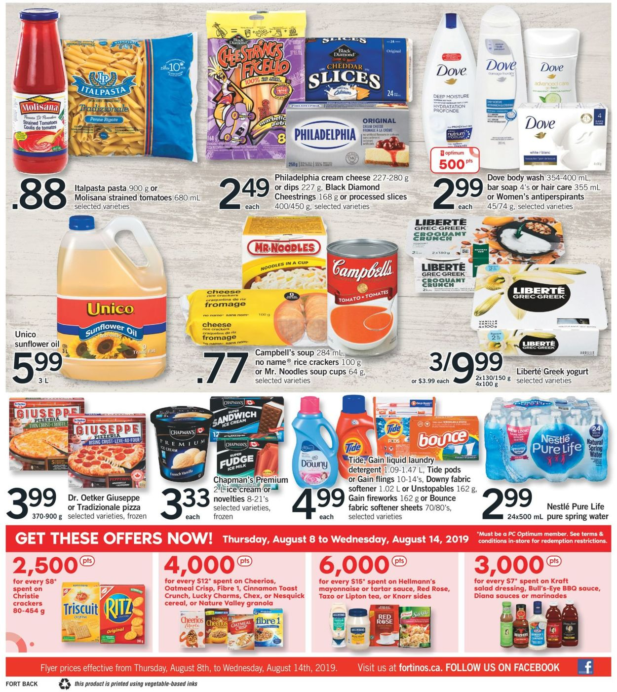 Fortinos Flyer - 08/08-08/14/2019 (Page 2)