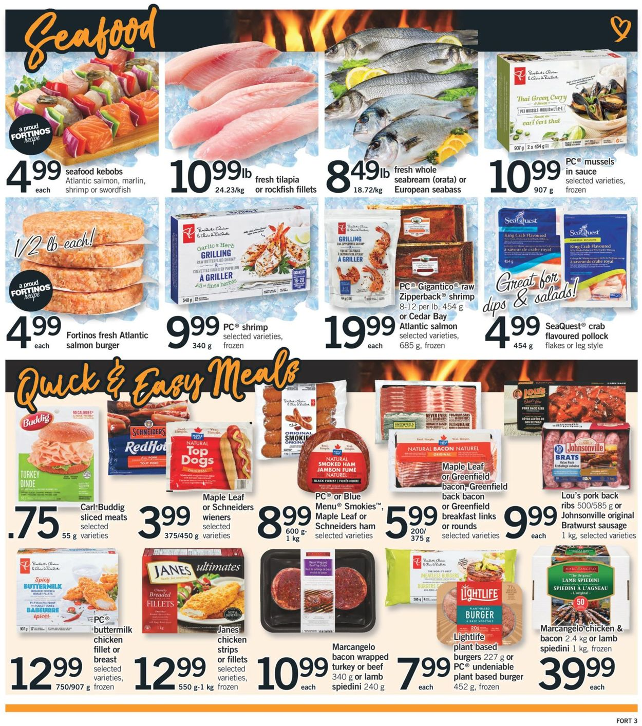 Fortinos Flyer - 08/08-08/14/2019 (Page 4)