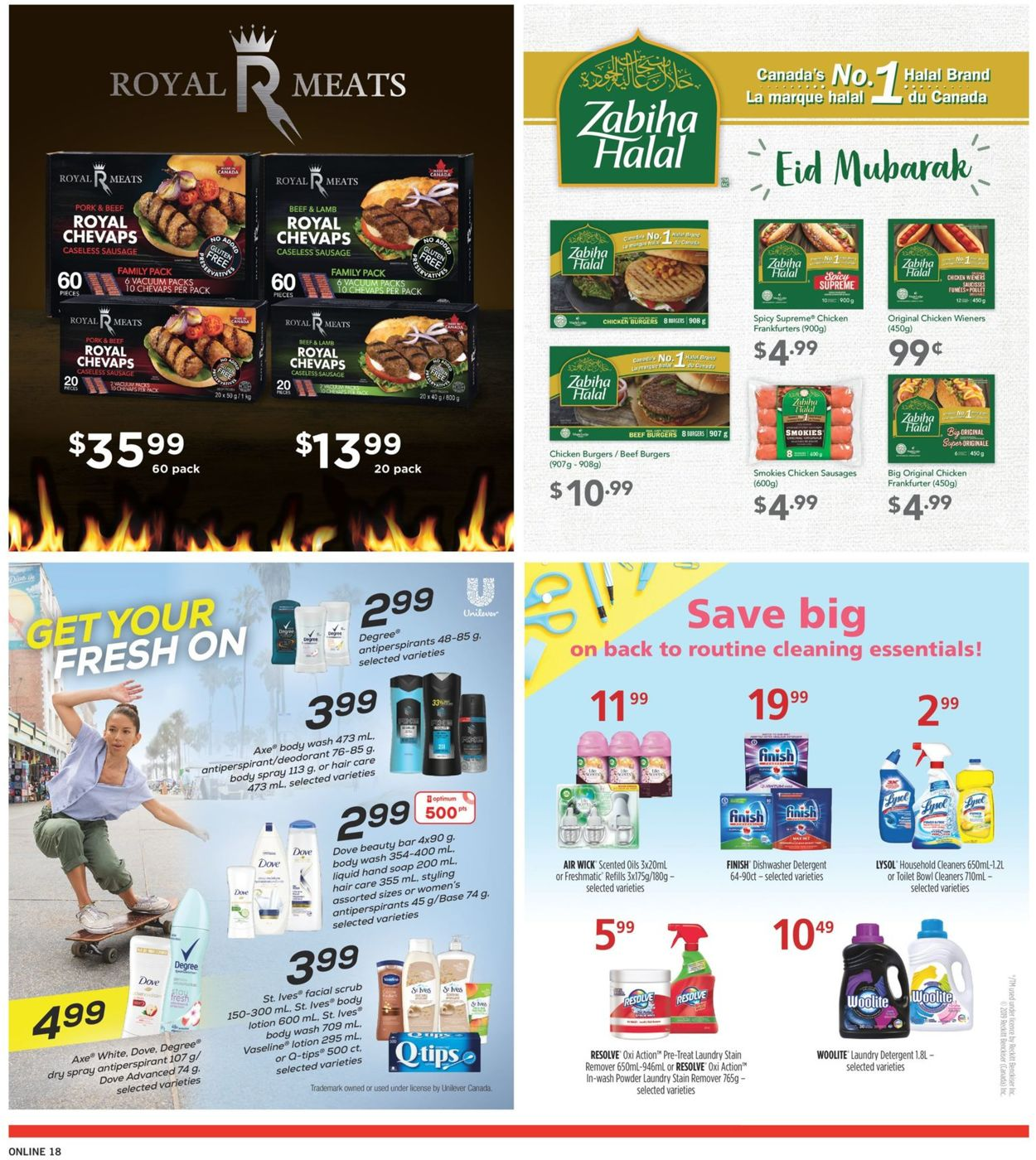 Fortinos Flyer - 08/08-08/14/2019 (Page 18)