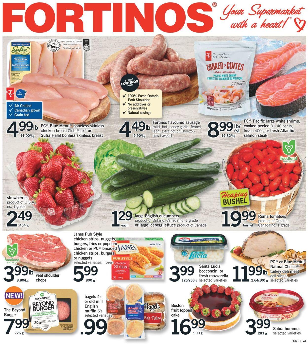 Fortinos Flyer - 08/15-08/21/2019