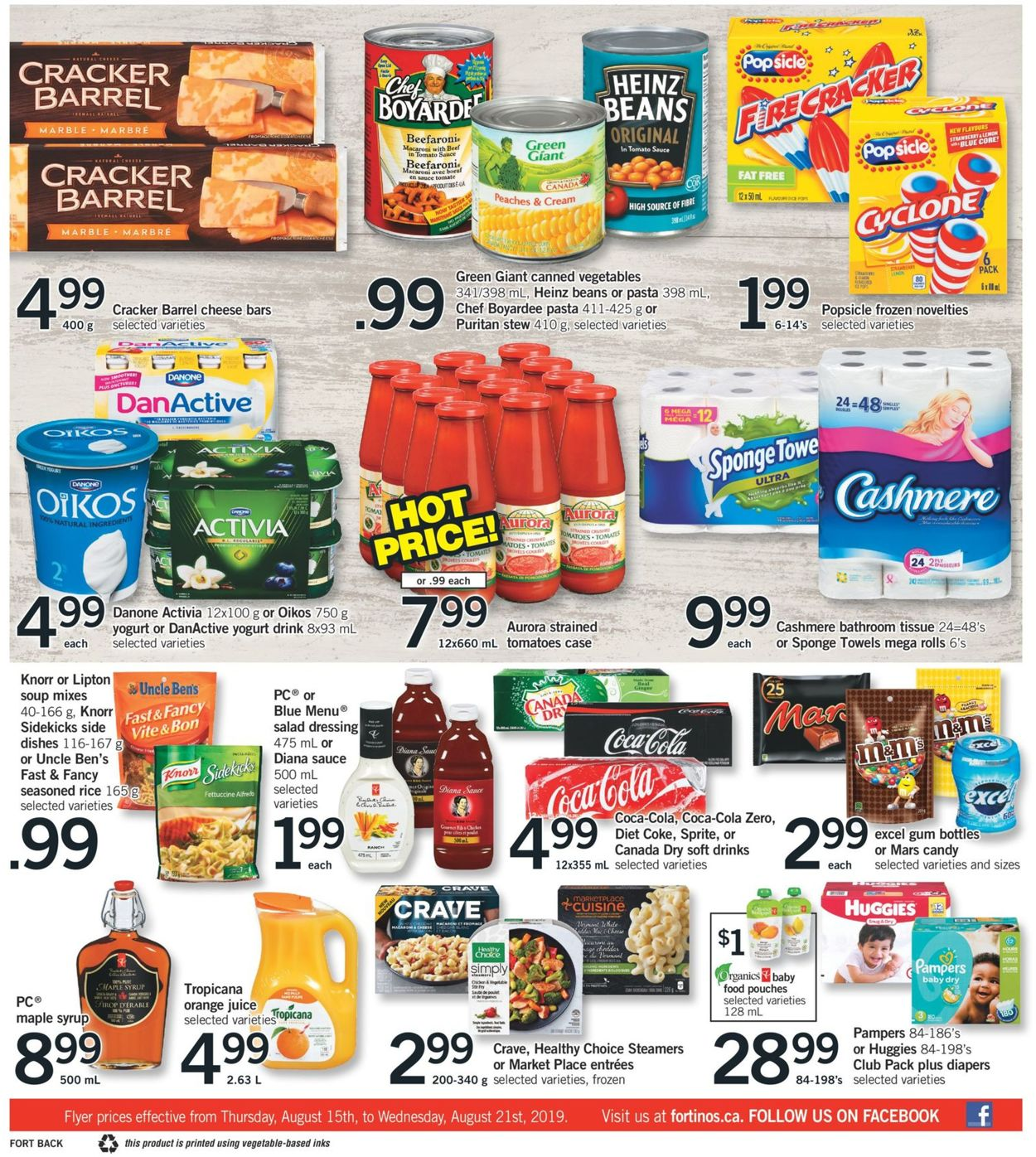 Fortinos Flyer - 08/15-08/21/2019 (Page 2)