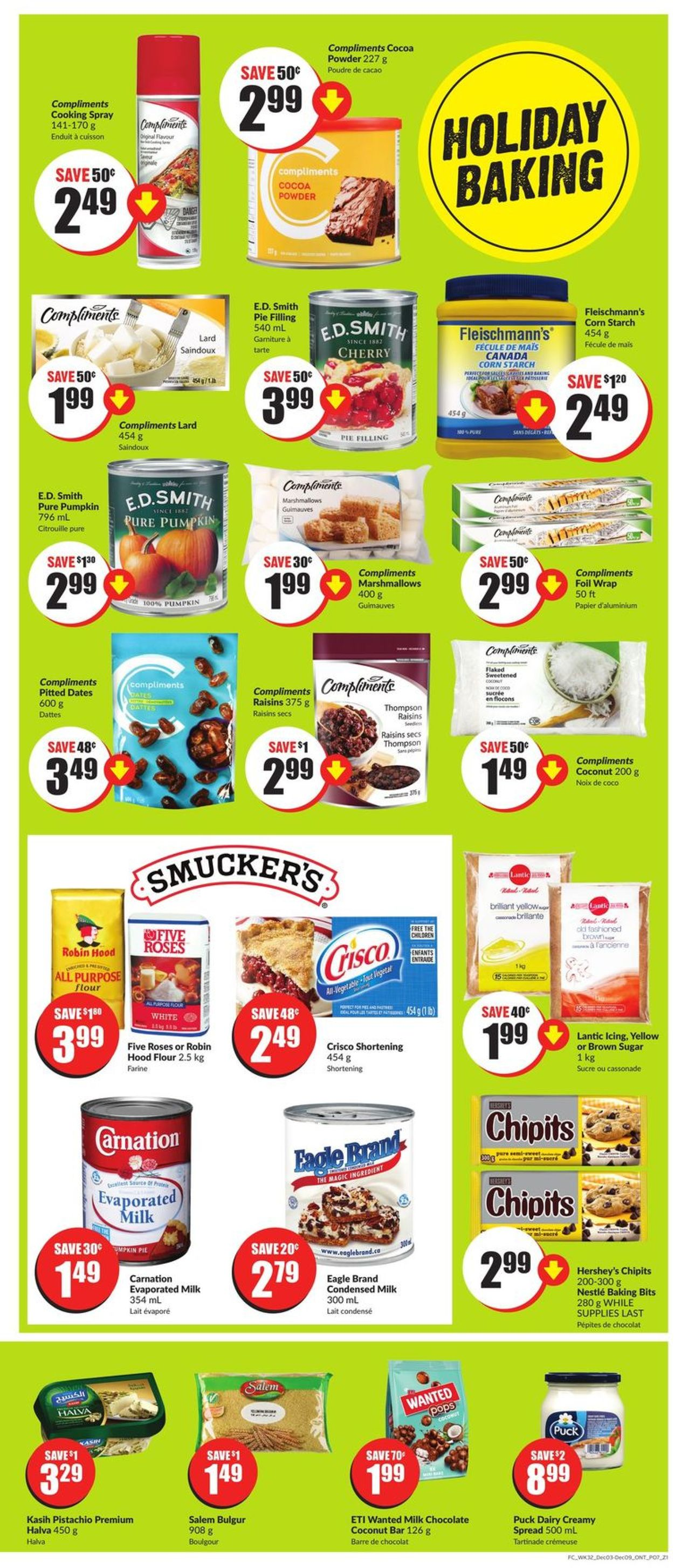 FreshCo. - Holiday 2020 Flyer - 12/03-12/09/2020 (Page 9)