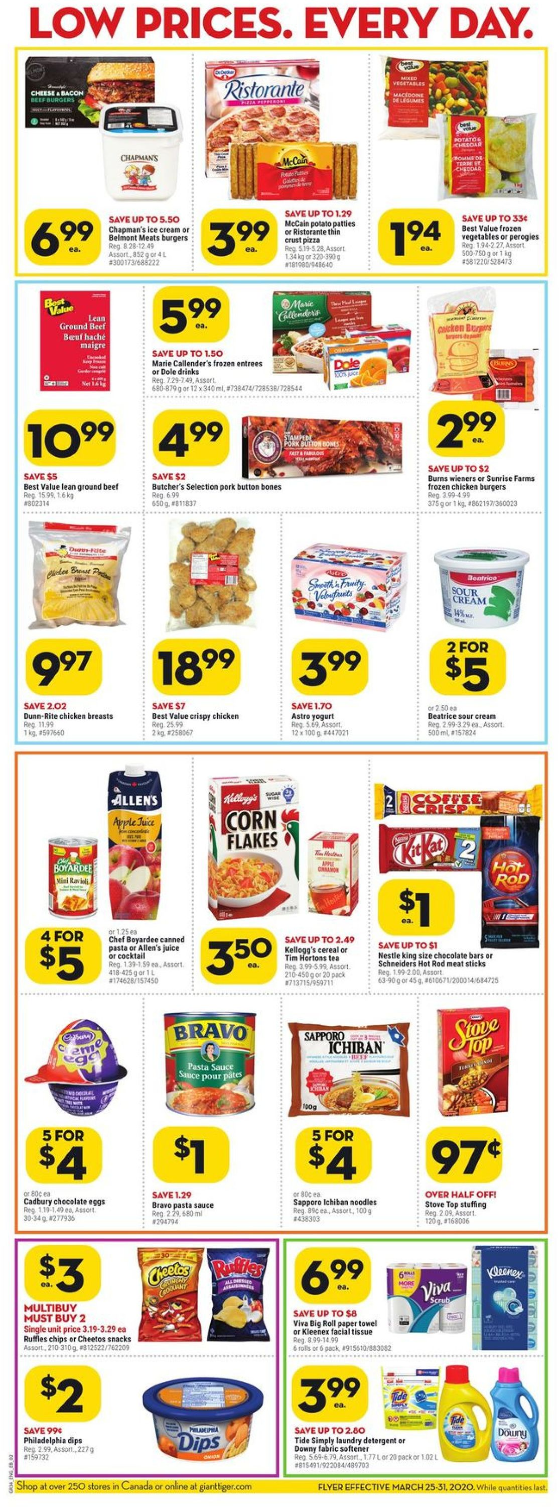 Giant Tiger Flyer - 03/25-03/31/2020 (Page 2)