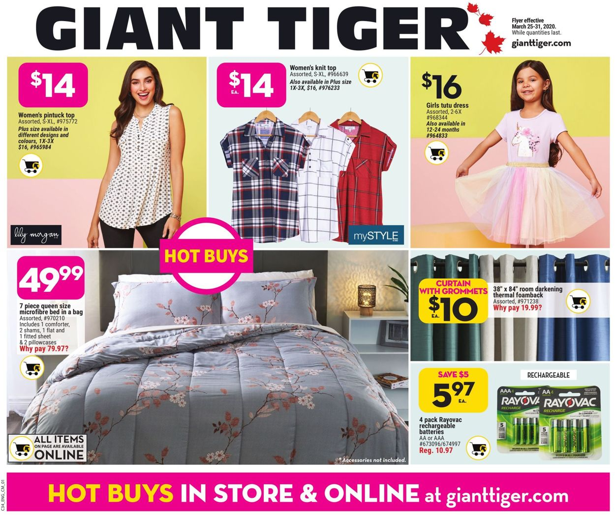 Giant Tiger Flyer - 03/25-03/31/2020 (Page 3)
