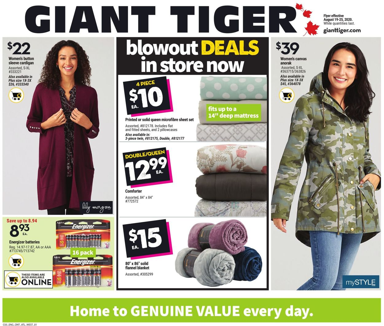 Giant Tiger Flyer - 08/19-08/25/2020 (Page 5)