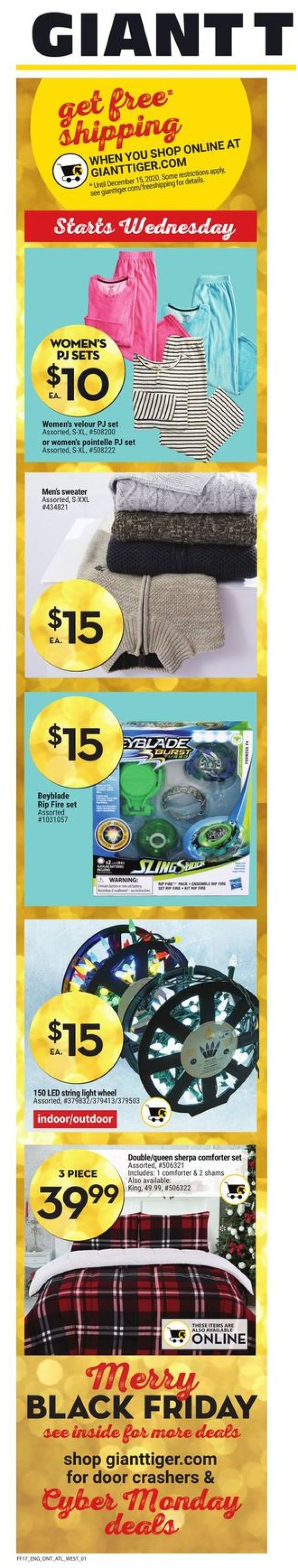 Giant Tiger - Black Friday 2020 Flyer - 11/25-12/01/2020 (Page 2)