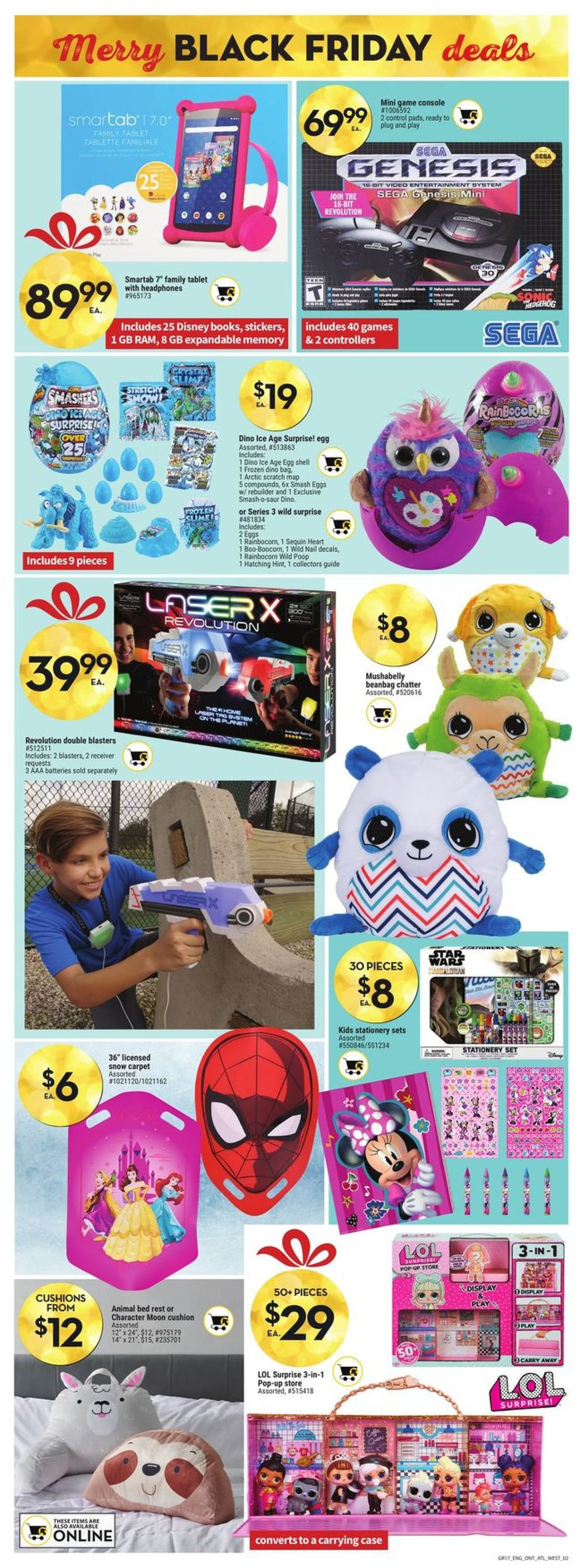 Giant Tiger - Black Friday 2020 Flyer - 11/25-12/01/2020 (Page 4)