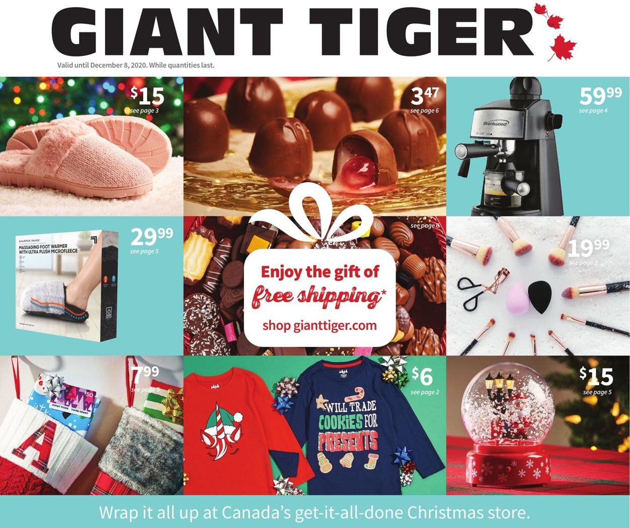 Giant Tiger - Holiday 2020 Flyer - 11/25-12/08/2020