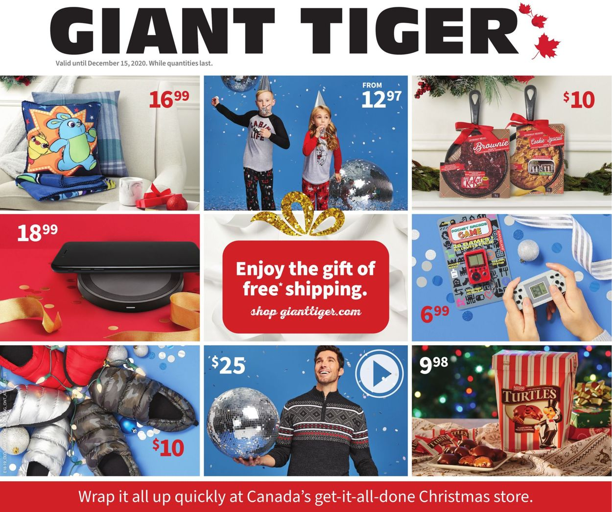 Giant Tiger - Holiday 2020 Flyer - 12/02-12/15/2020