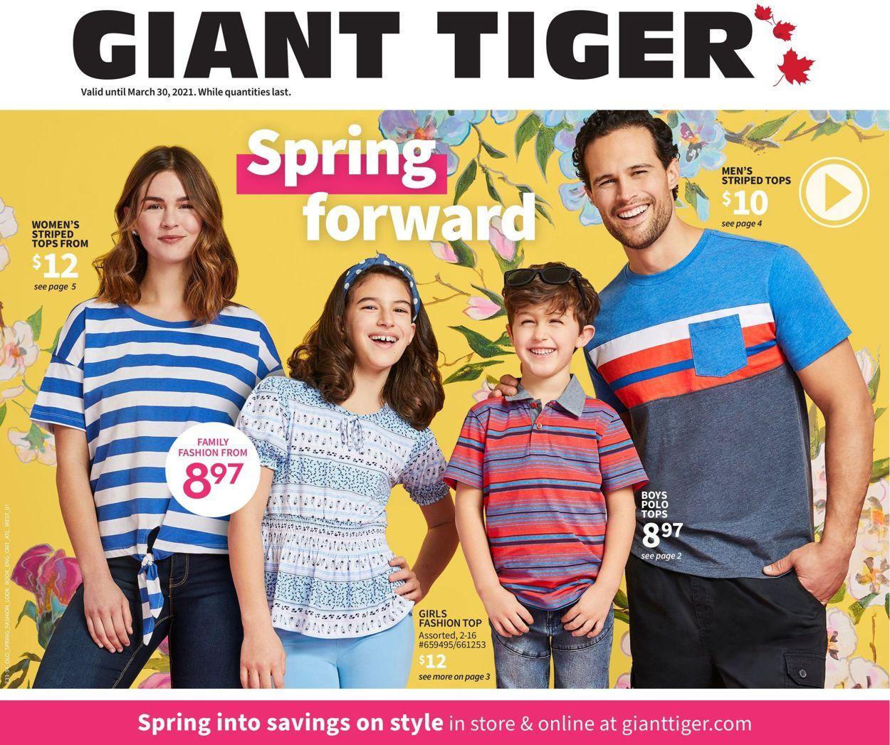 Giant Tiger Flyer - 03/17-03/30/2021