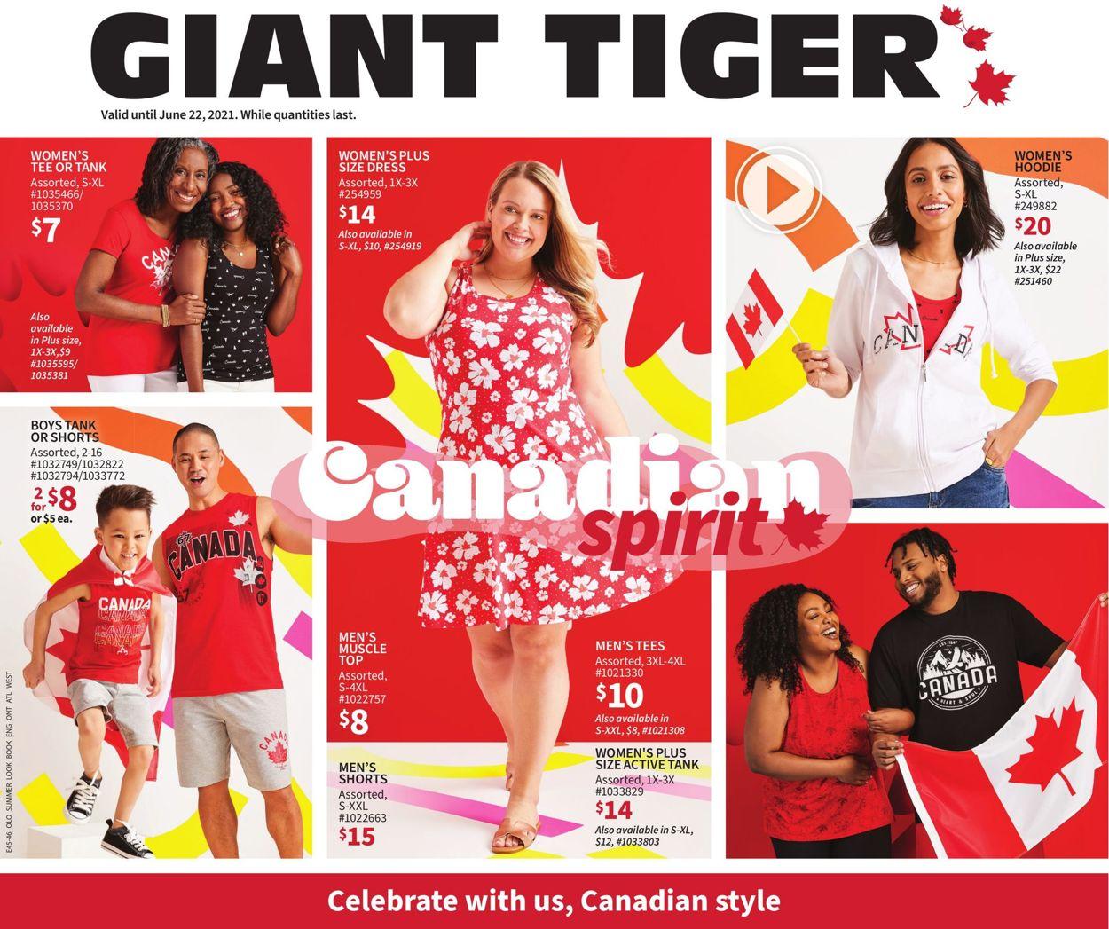 Giant Tiger Flyer - 06/09-06/22/2021