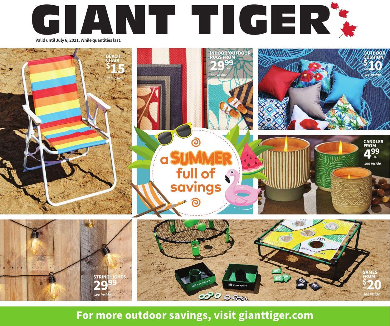 Giant Tiger Flyer - 06/23-07/06/2021