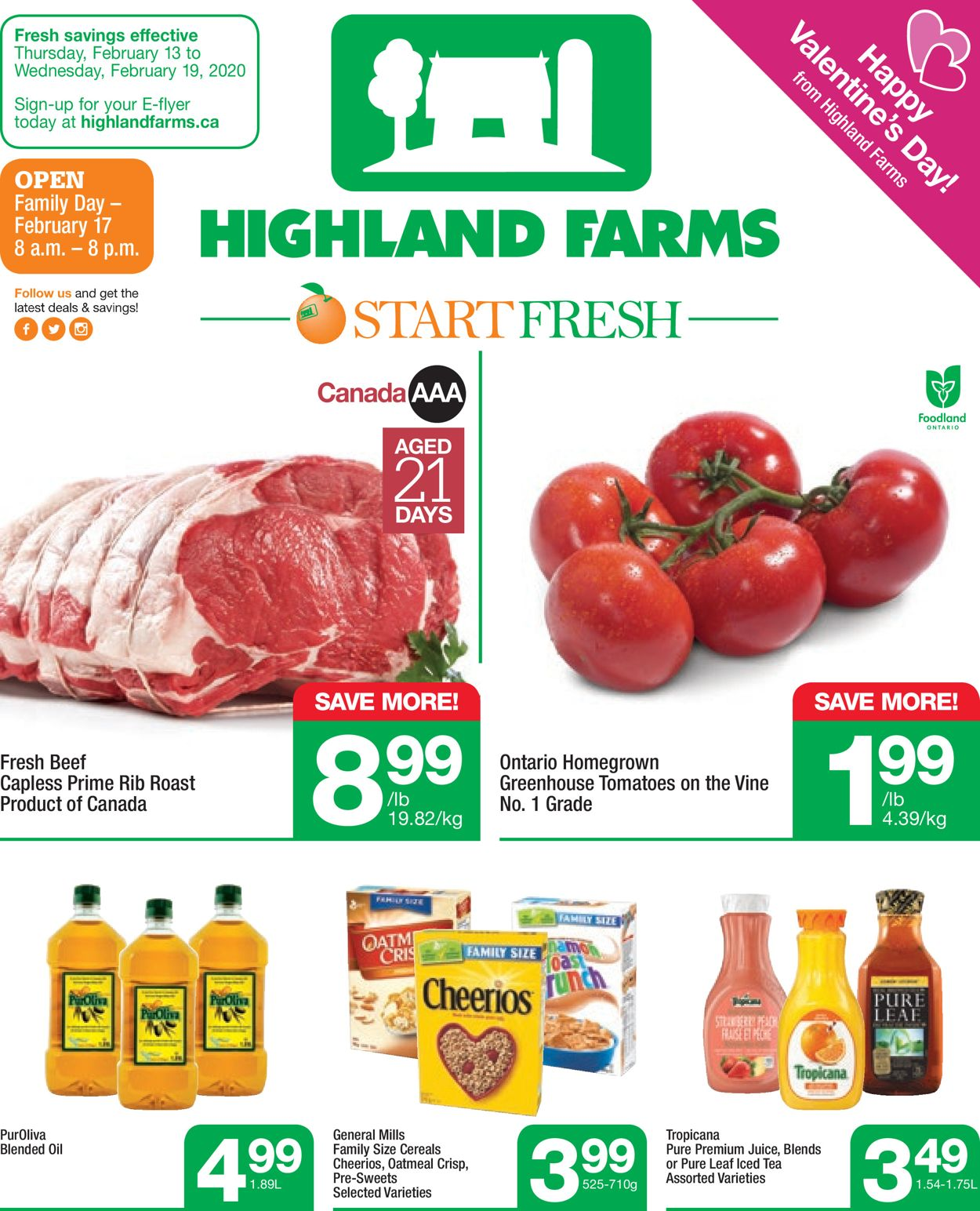 Highland Farms Flyer - 02/13-02/19/2020