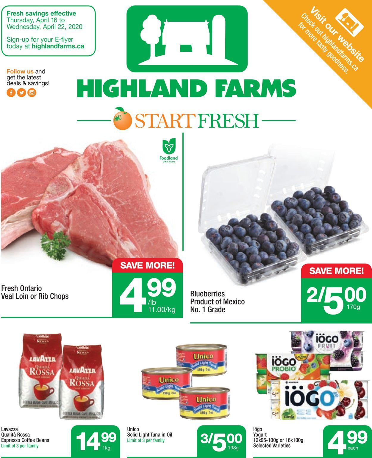 Highland Farms Flyer - 04/16-04/22/2020