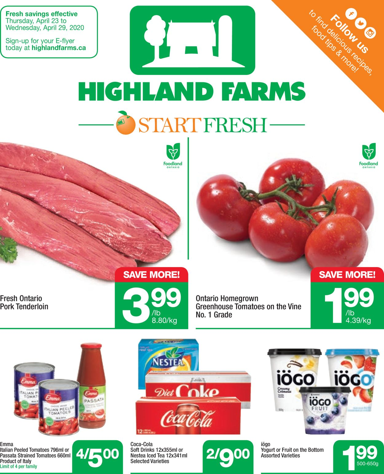 Highland Farms Flyer - 04/23-04/29/2020
