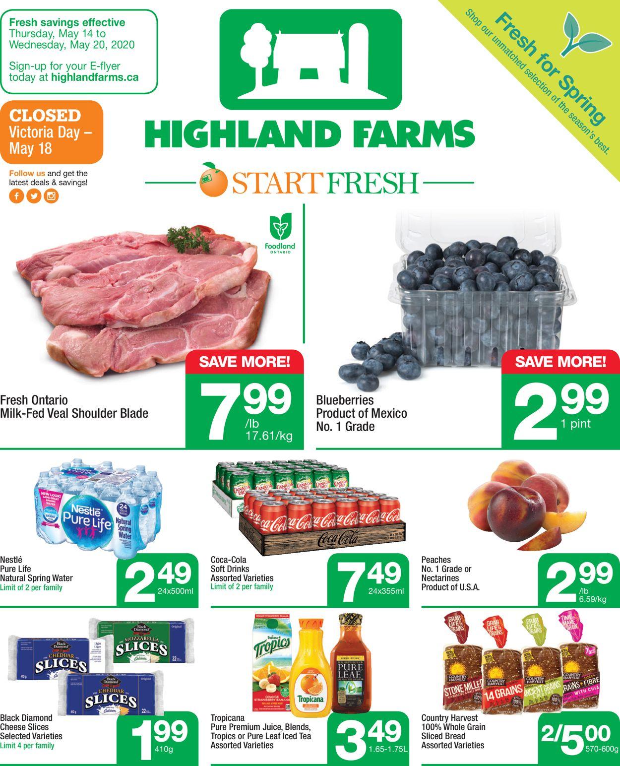 Highland Farms Flyer - 05/14-05/20/2020