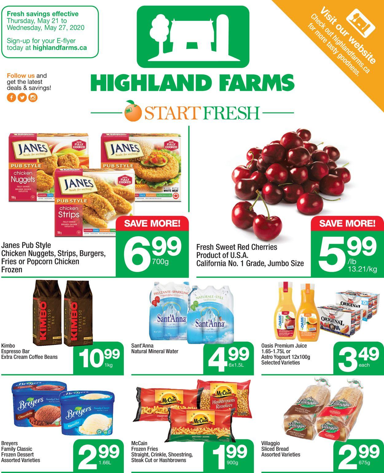 Highland Farms Flyer - 05/21-05/27/2020