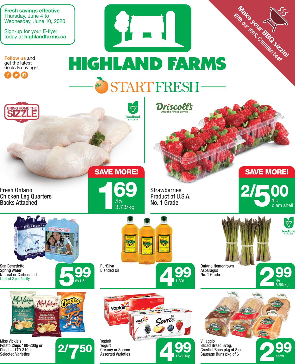 Highland Farms Flyer - 06/04-06/10/2020