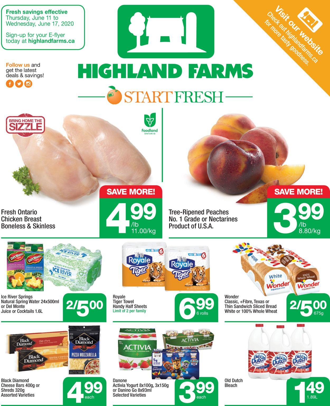 Highland Farms Flyer - 06/11-06/17/2020