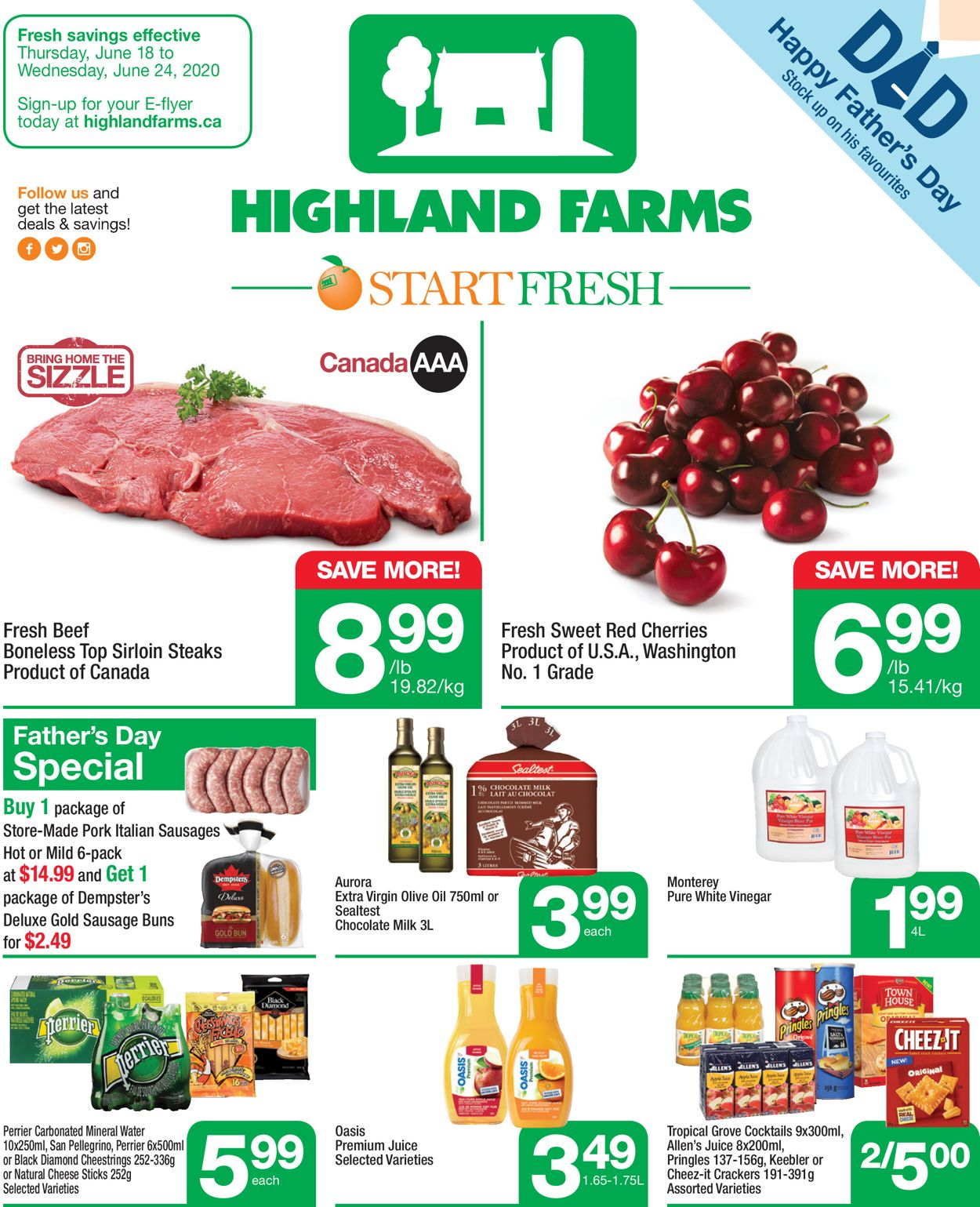 Highland Farms Flyer - 06/18-06/24/2020