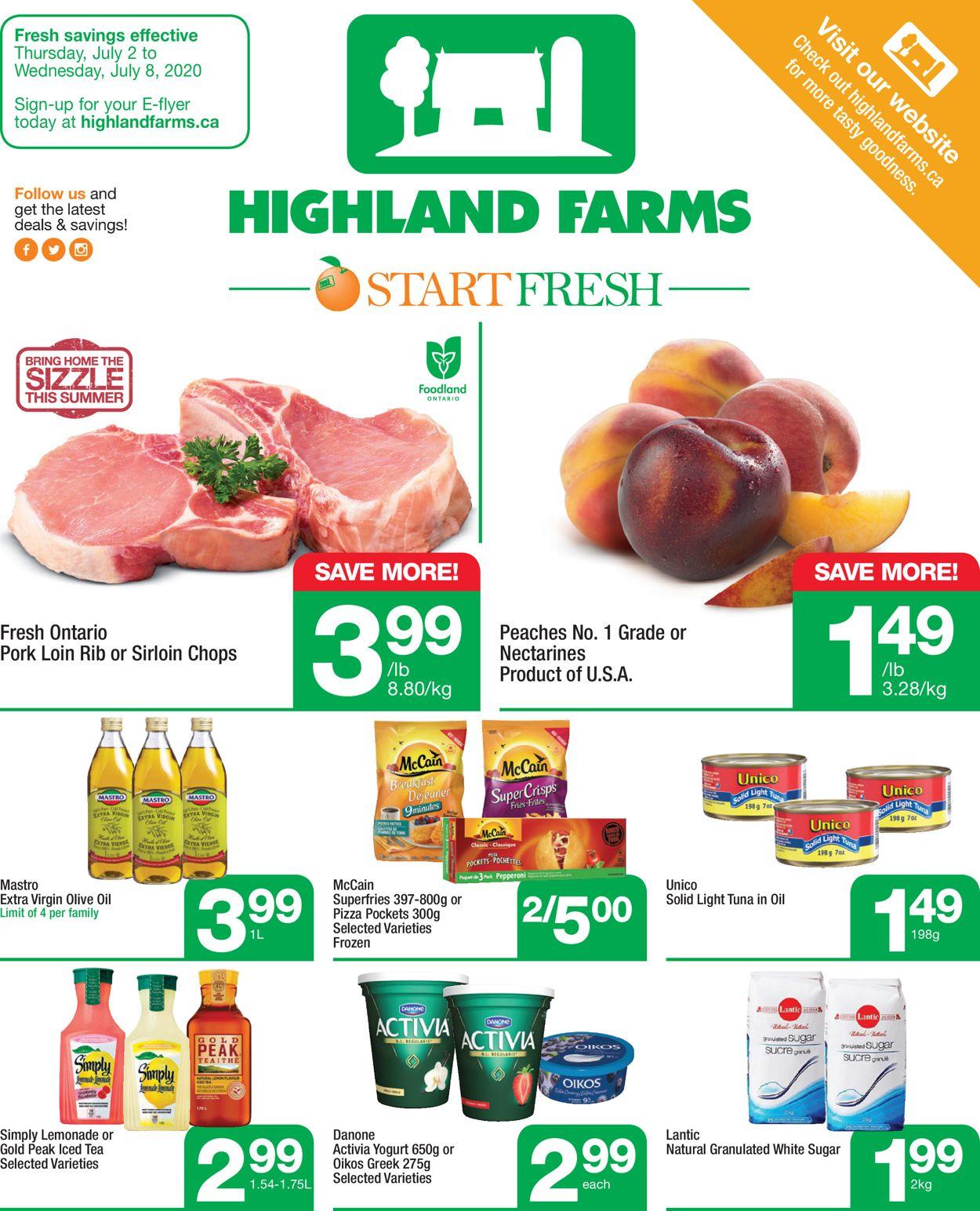 Highland Farms Flyer - 07/02-07/08/2020