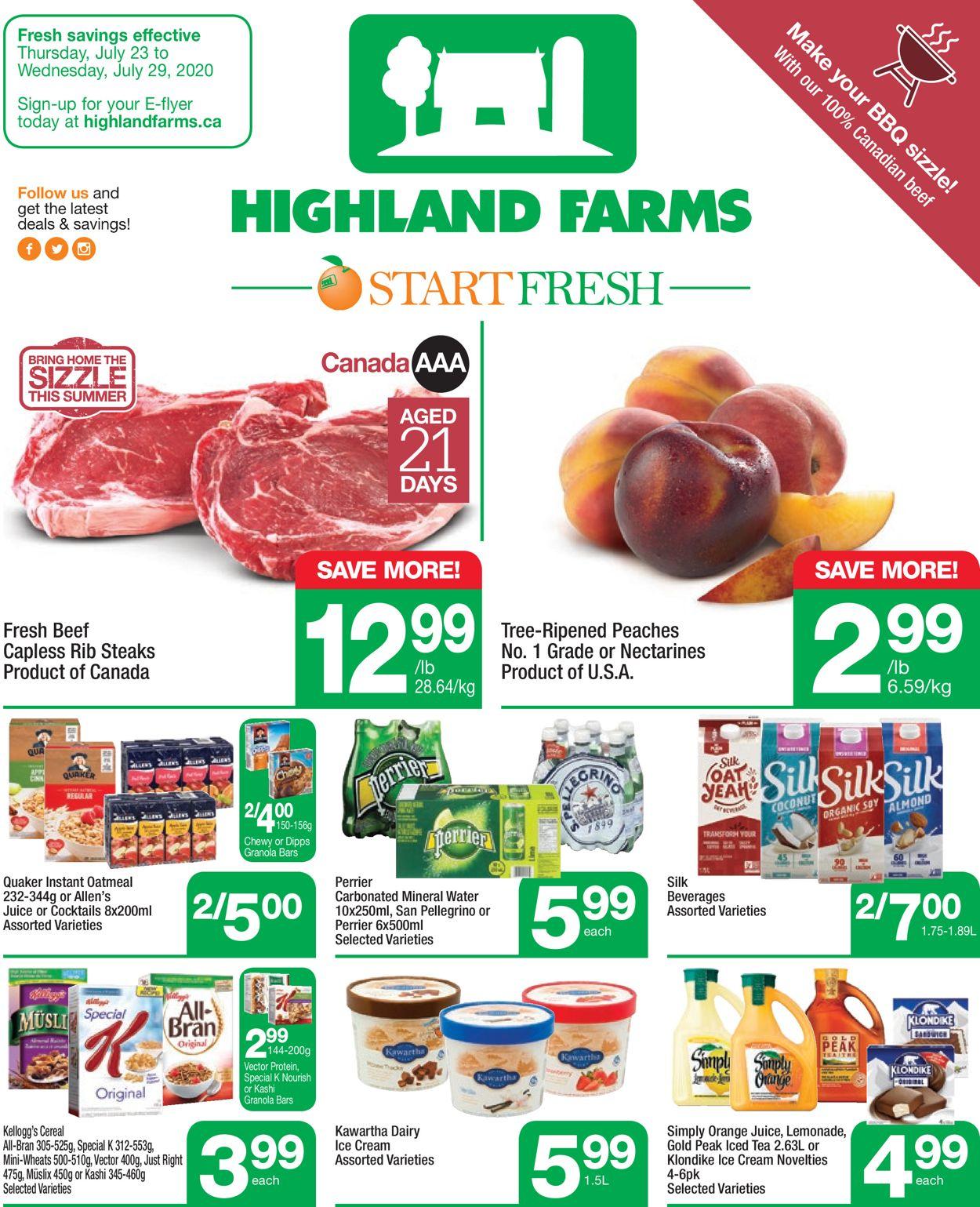 Highland Farms Flyer - 07/23-07/29/2020