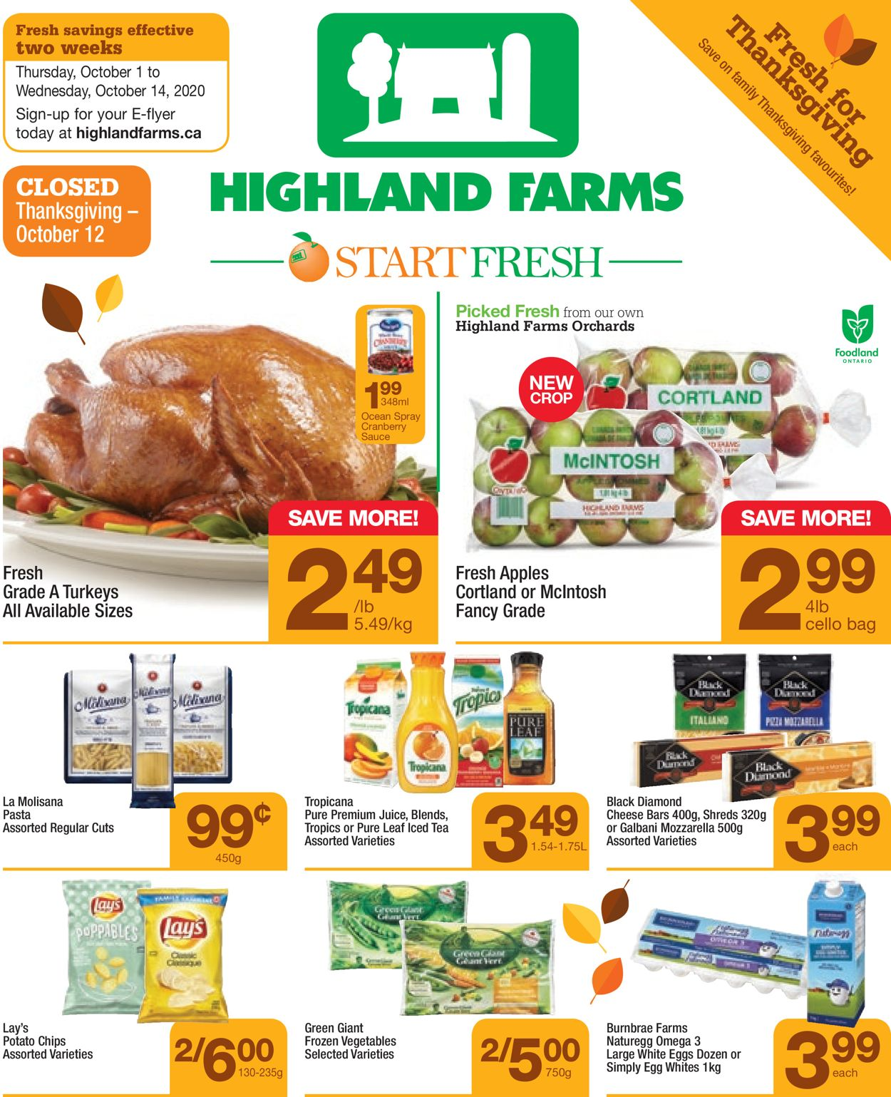 Highland Farms Flyer - 10/01-10/14/2020