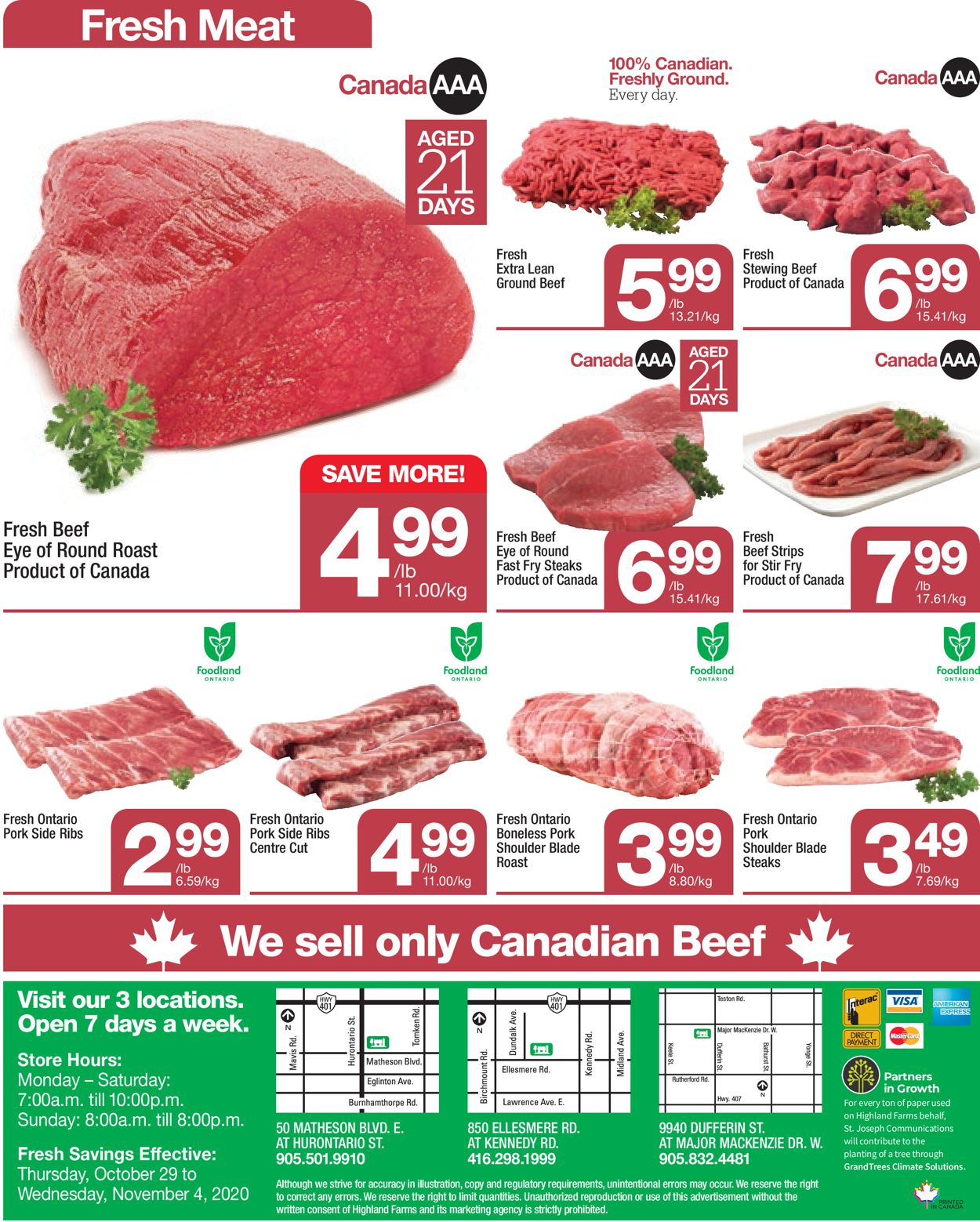Highland Farms Flyer - 10/29-11/04/2020 (Page 8)