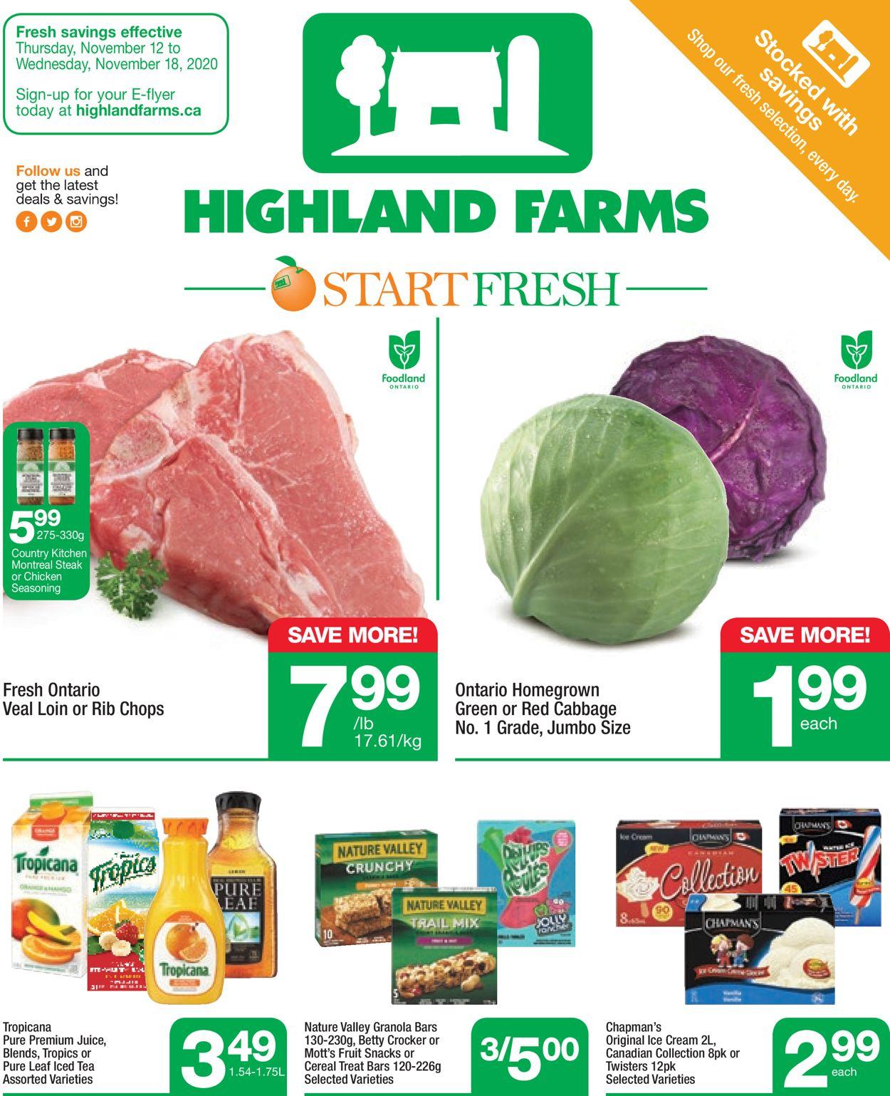 Highland Farms Flyer - 11/12-11/18/2020