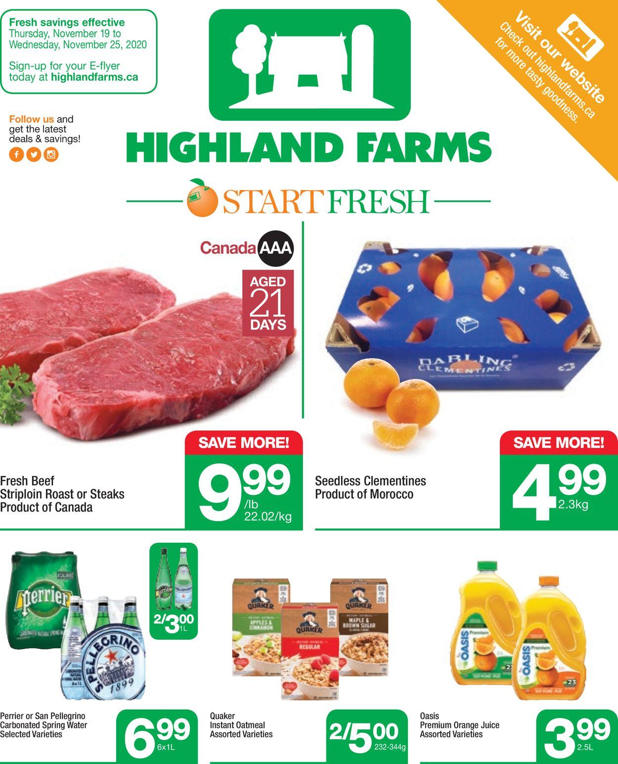 Highland Farms Flyer - 11/19-11/25/2020