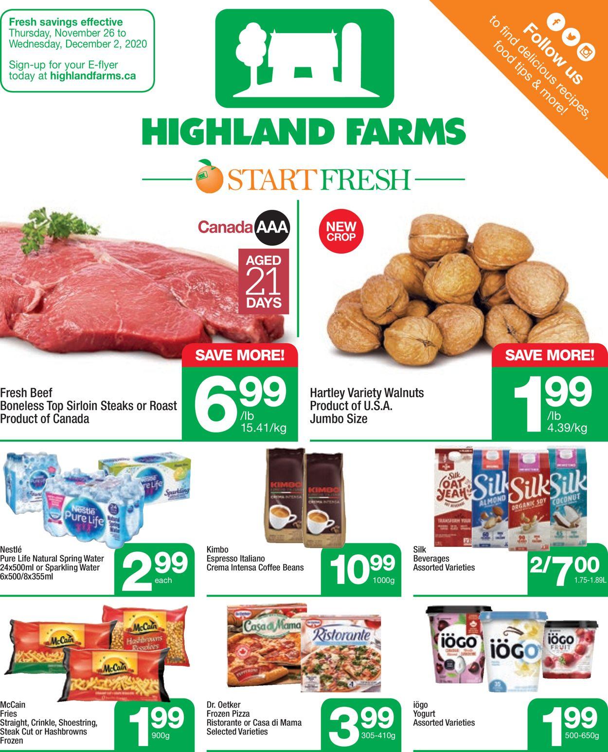 Highland Farms - Black Friday 2020 Flyer - 11/26-12/02/2020